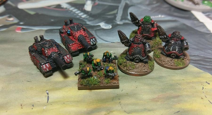 Epic, Orks, Epic 40k Orks collection