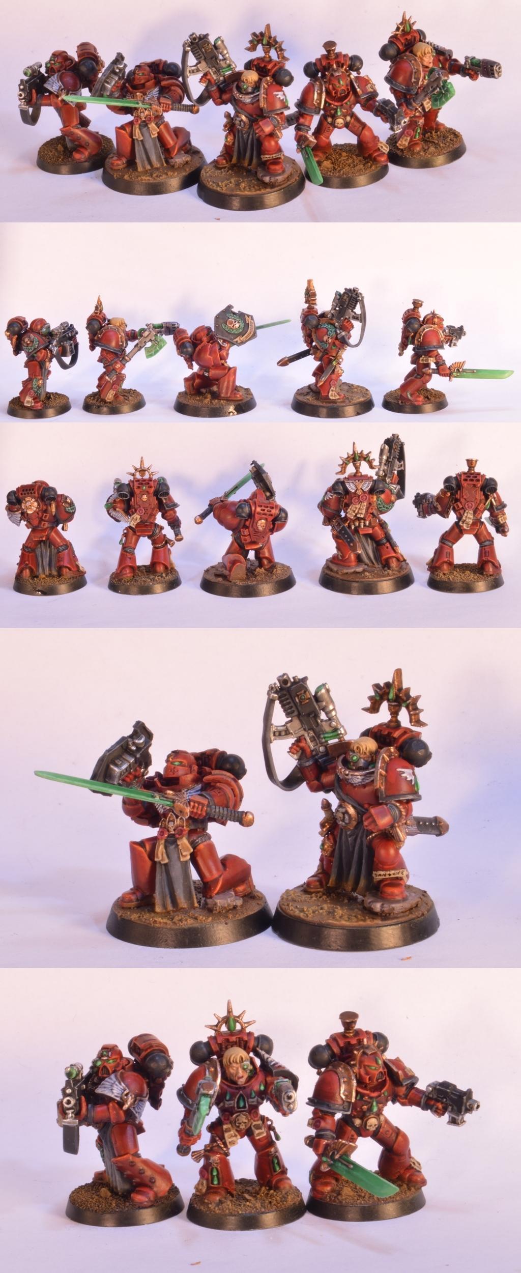 Blood Angels, Knights Sanguine, Space Marines