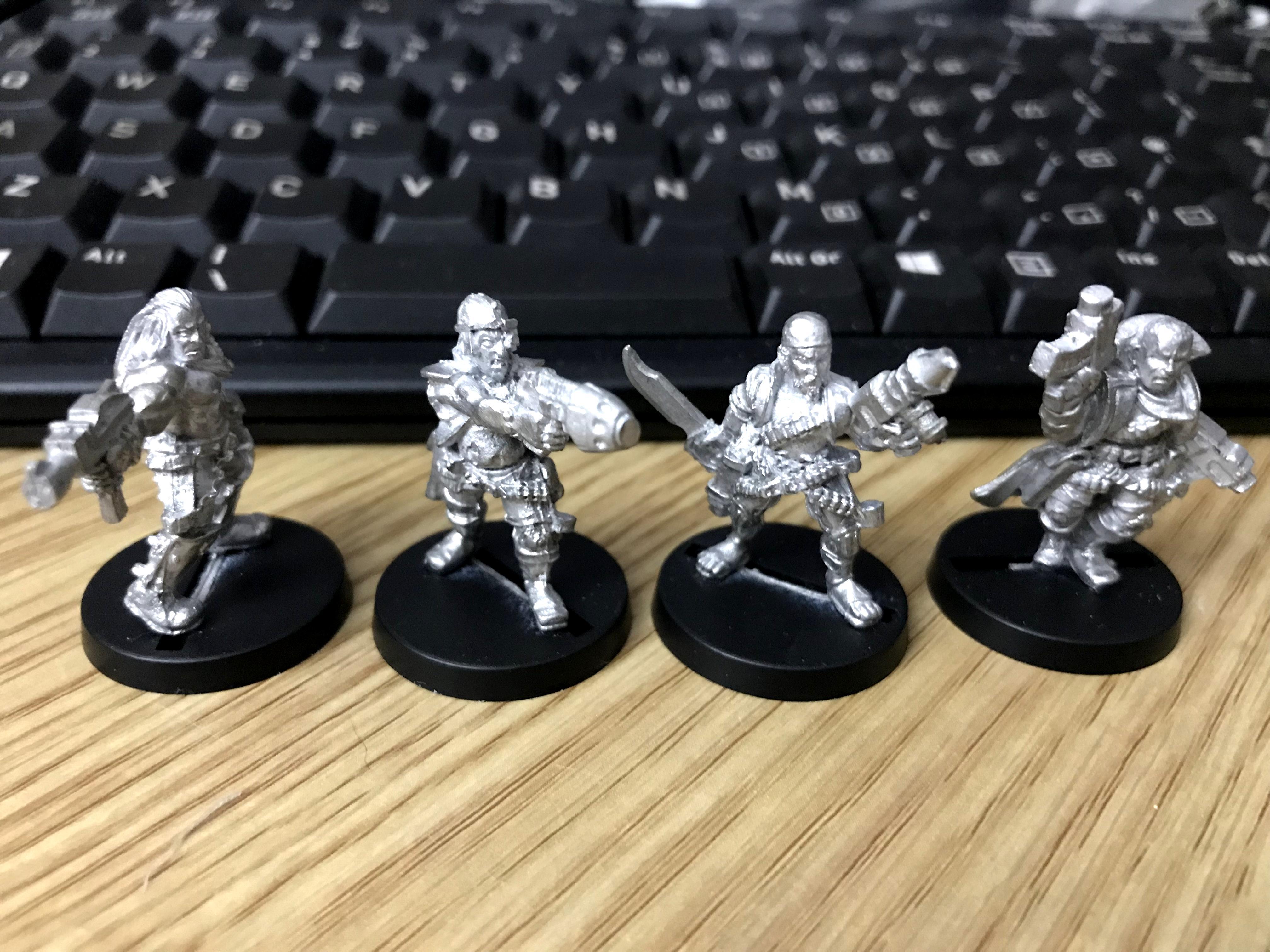 Hired Guns, Mercenary, Necromunda, Scum
