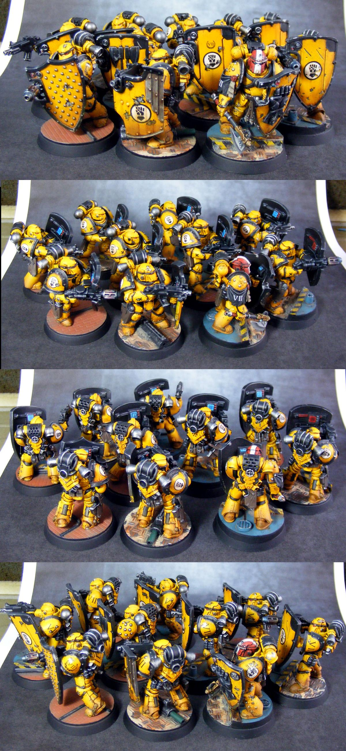 Horus Heresy, Imperial Fists, Space Marines