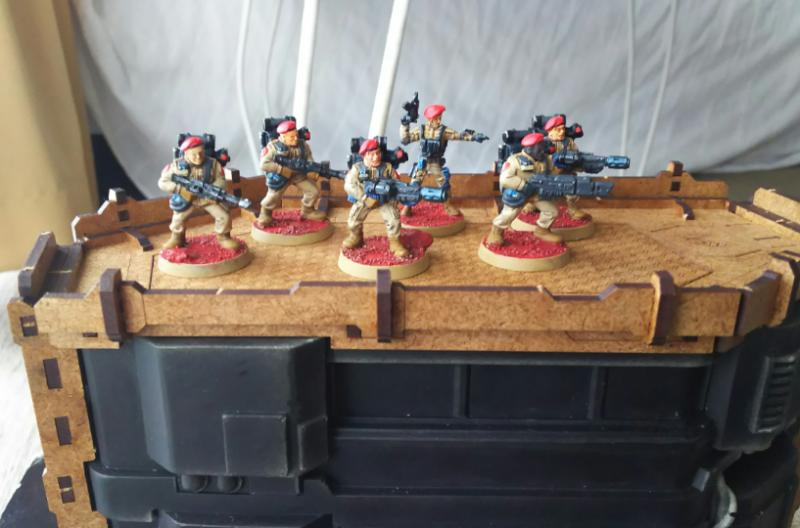 Games Workshop, Imperia Guard, Imperial Guard, Storm Troopers, Warhammer 40,000
