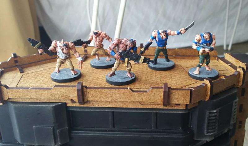 Deadzone, Firefight, Mantic, Mutant, Plague, Warpath
