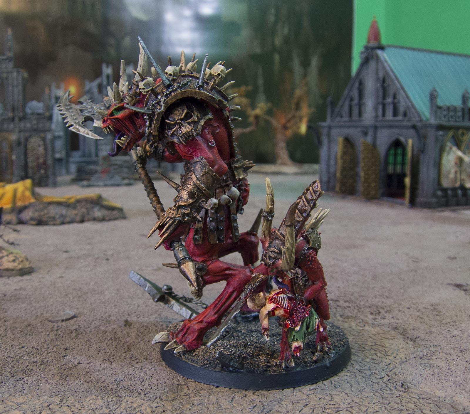 Daemon Prince, Forge World, Khorne