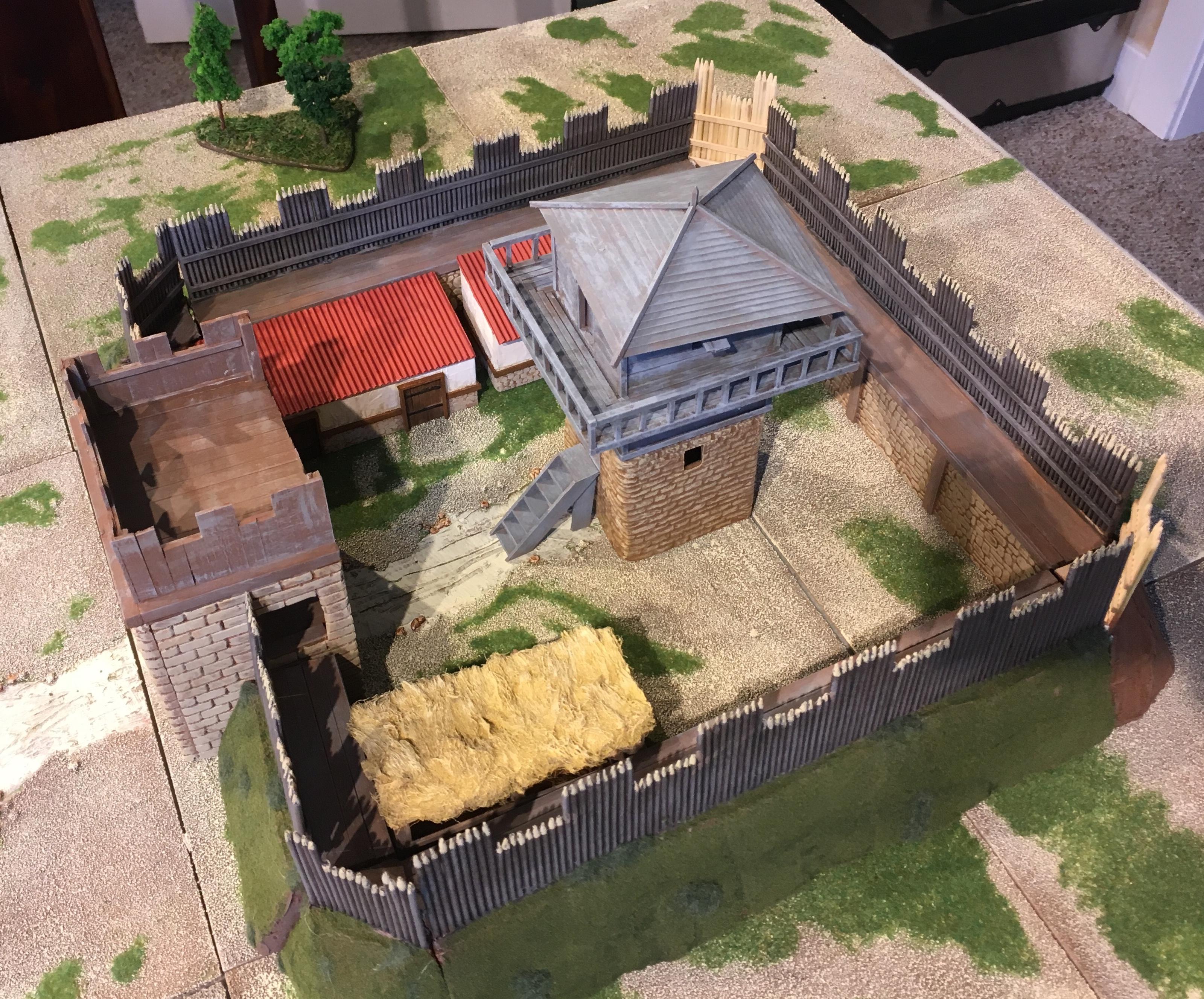 Fort, Fortress, Saxon