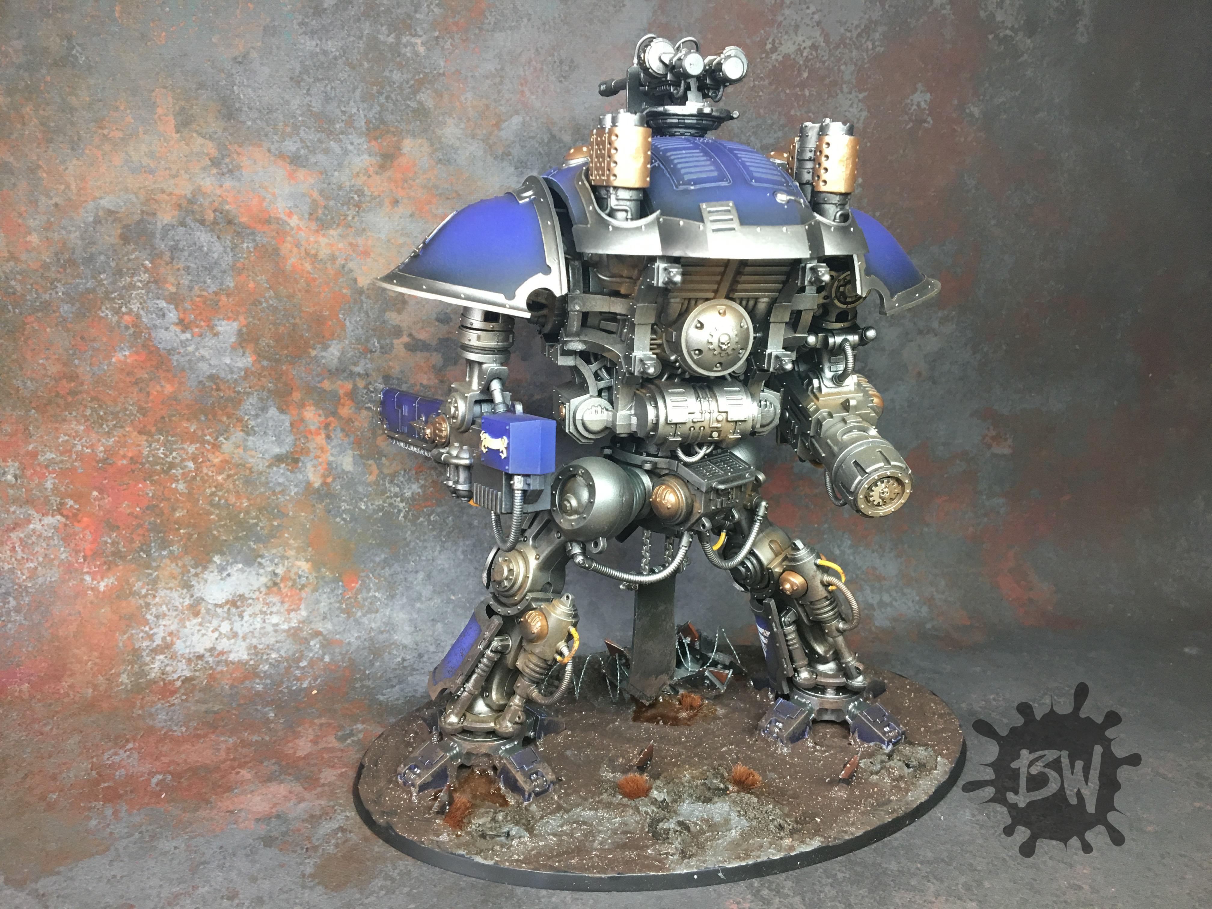 Imperial Knight, Imperial Knight Errant, Imperium, Warhammer 40,000, Warhammer Fantasy