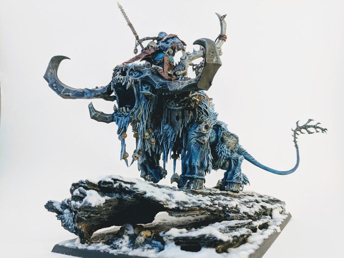 Hunter, Ogre Kingdoms, Ogres, Stonehorn