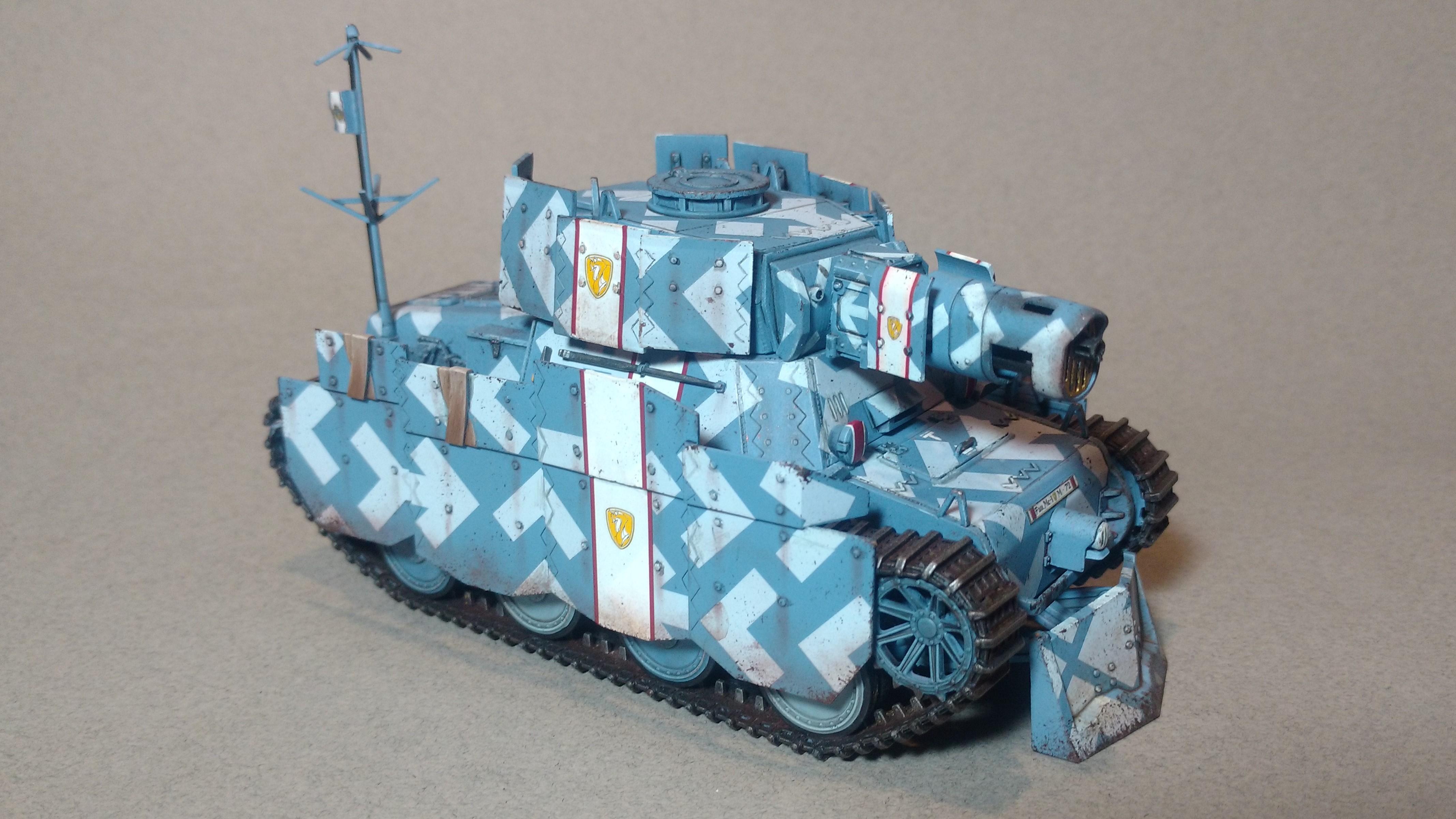 Armor, Tank, Shamrock