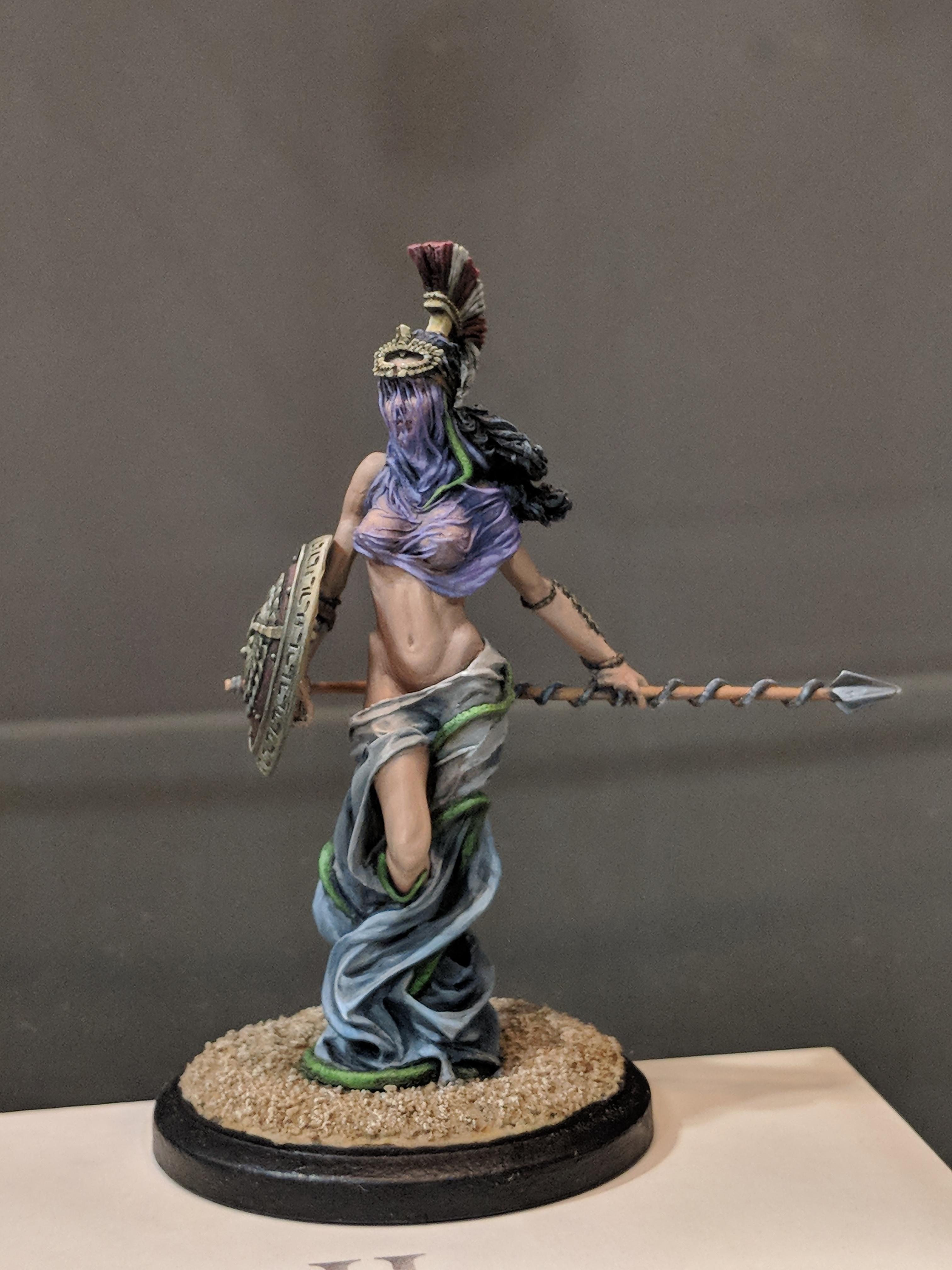 Amazon, Athena, Goddess, Greek