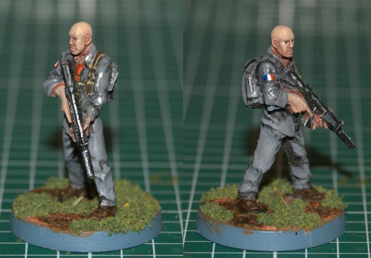 Hasslefree Miniatures, Modern, Trooper