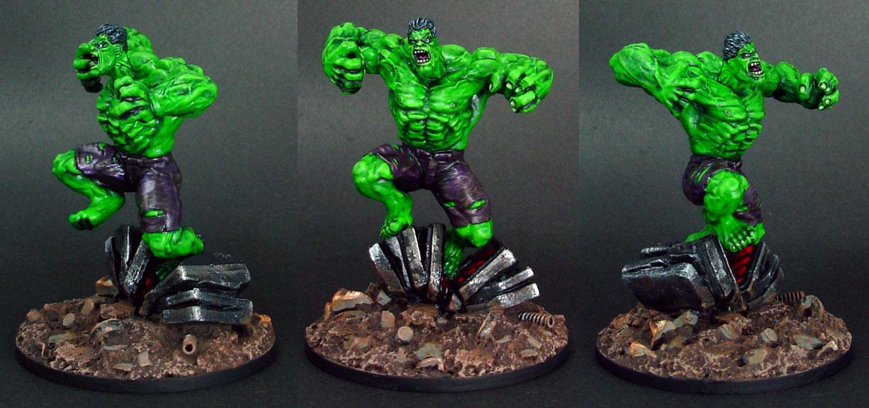 Heroclix, Hulk, Marvel, Superhero