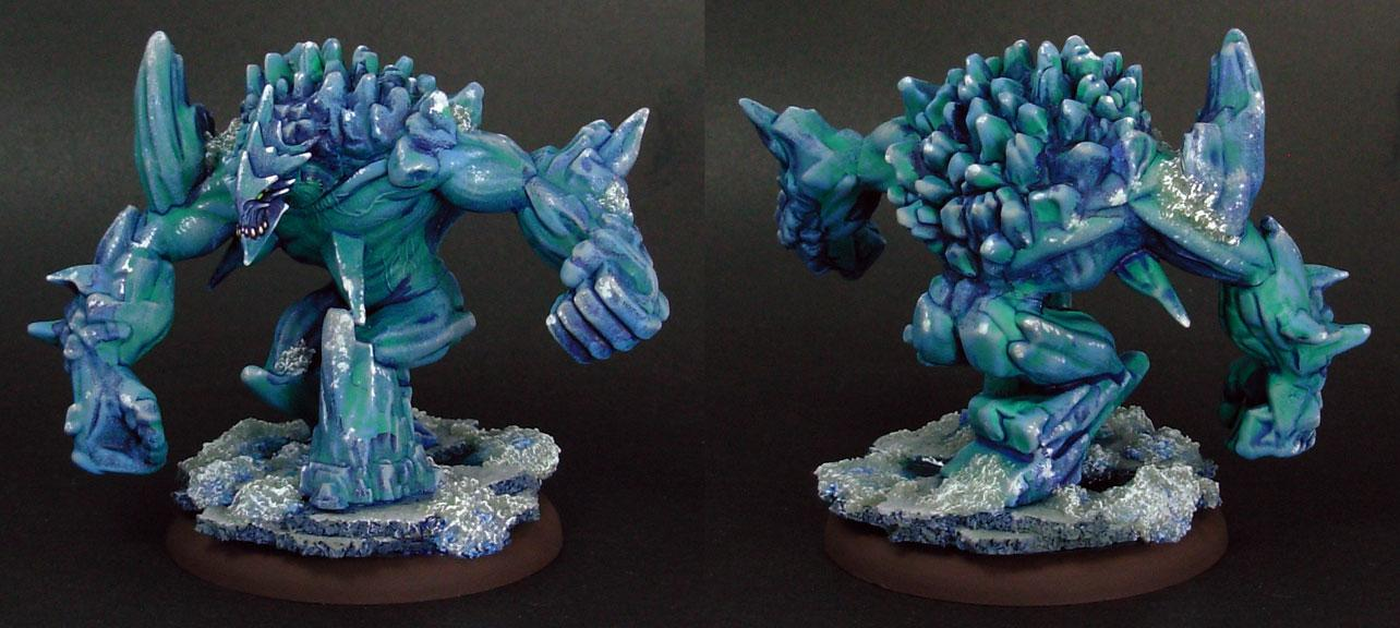 December, Golem, Ice, Malifaux