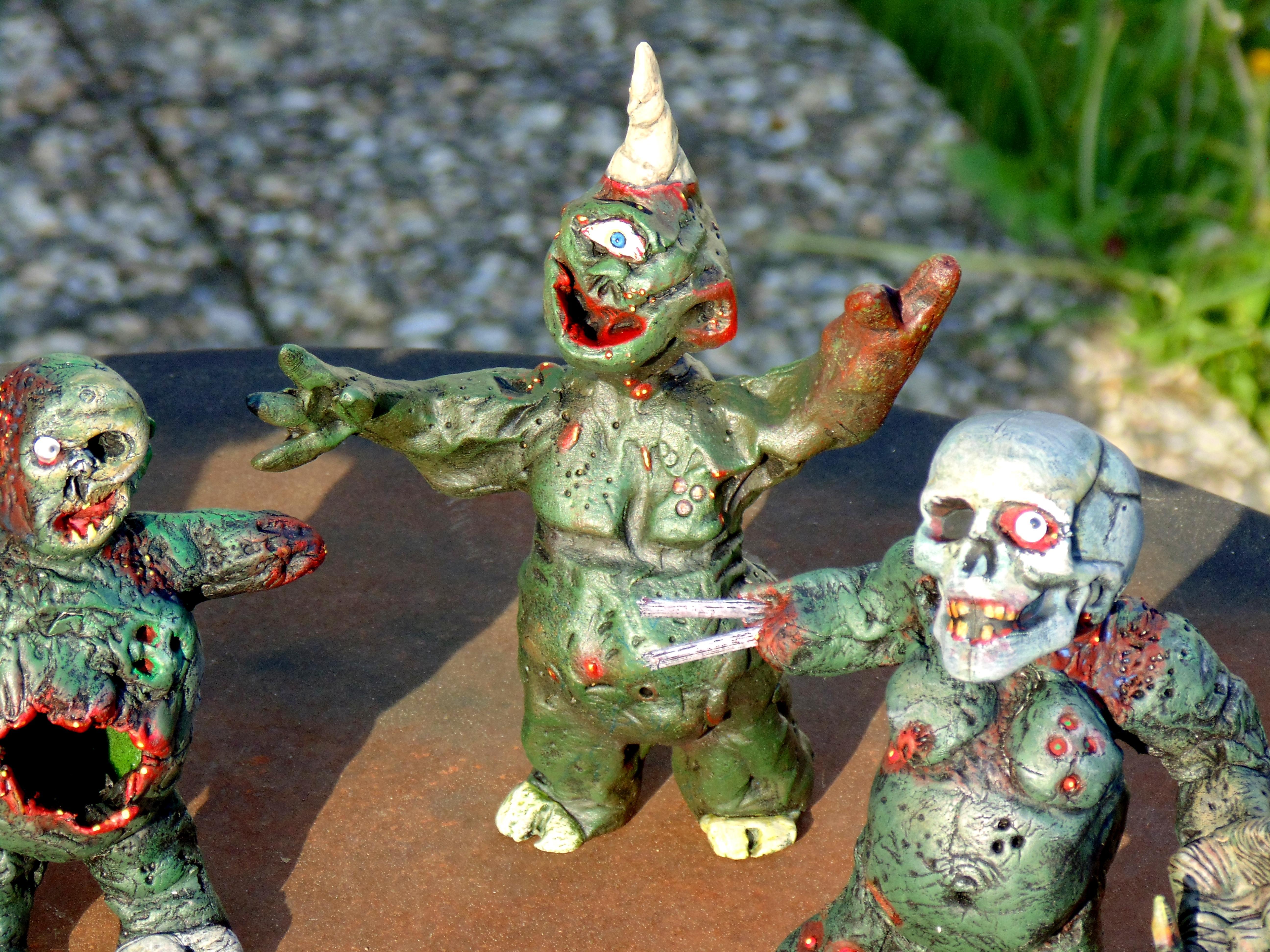 Chaos Nurgle, Converion, Conversion, Daemons, Garden, Gnome, Guo, Nurgle, Plague, Plaguebearers, Prince, Scratch