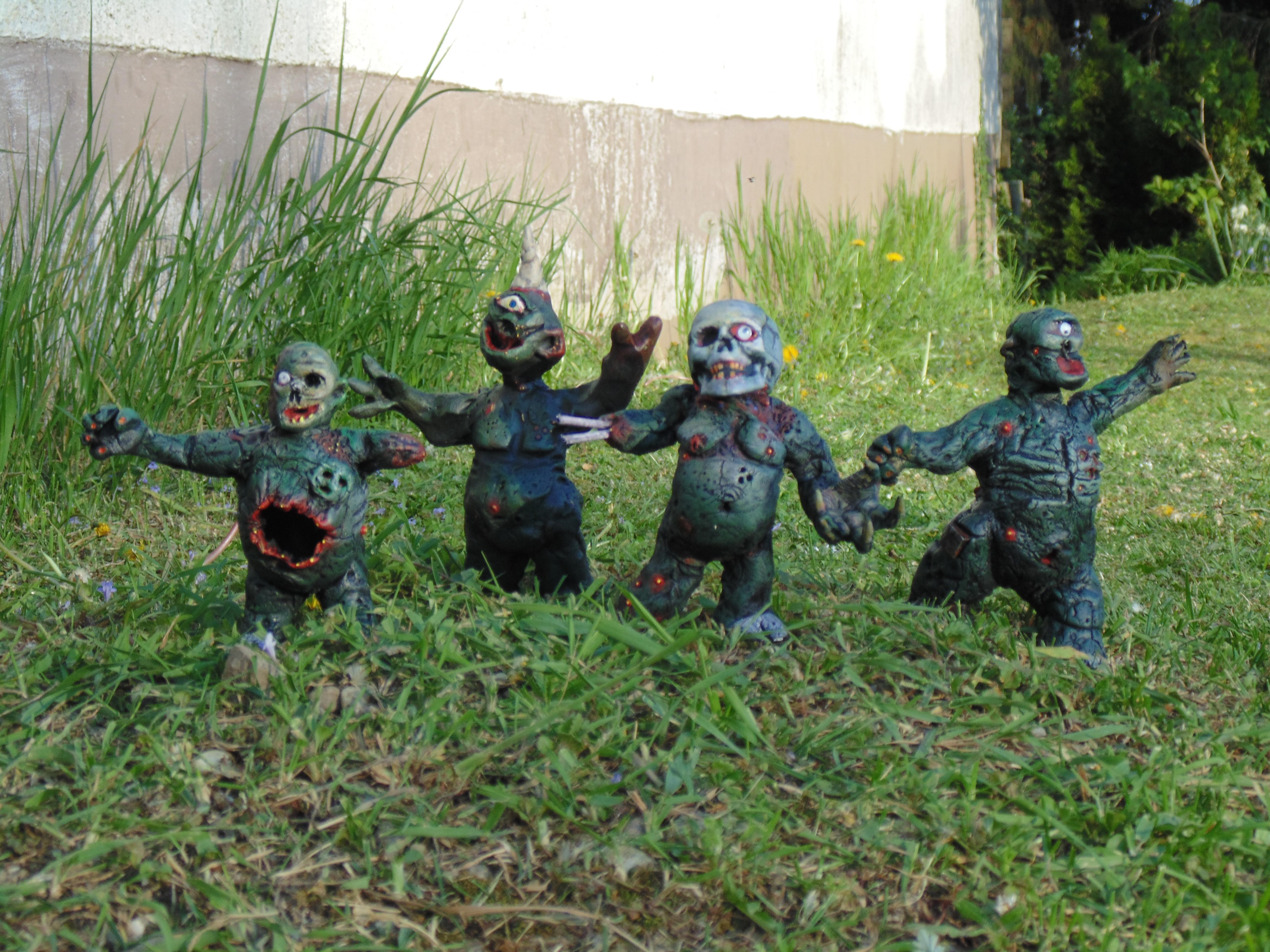 Chaos Nurgle, Conversion, Daemons, Garden, Gnome, Guo, Nurgle, Plague, Plaguebearers, Prince, Scratch
