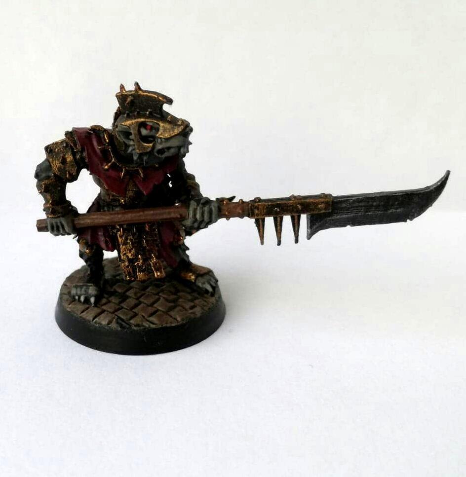 Age Of Sigmar, Ageofsigmar, Clan Rictus, Clanrictus, Rat Ogre, Skaven, Stormvermin, Warhammer Fantasy