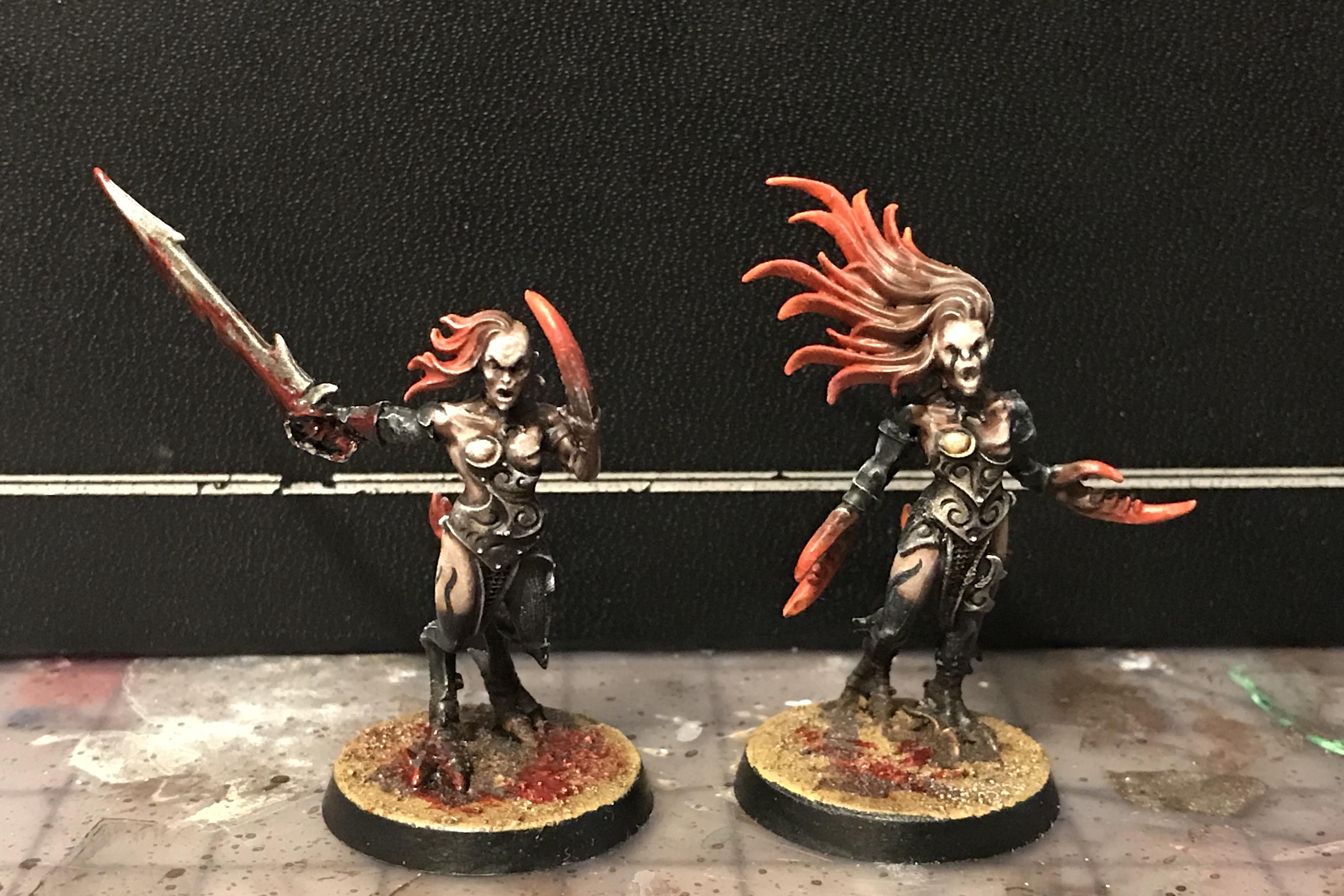 Aelves, Alf, Aos28, Battle, Battles, Chaos, Cult, Daemonettes, Daemons, Dark, Darkness, Druchii, Elves, Evil, Excess, Gods, Mordheim, Of, Perfection, Plastic, Pleasure, Realms, Red, Sensual, Servants, Slaanesh, Warhammer Fantasy, Warm, Warp