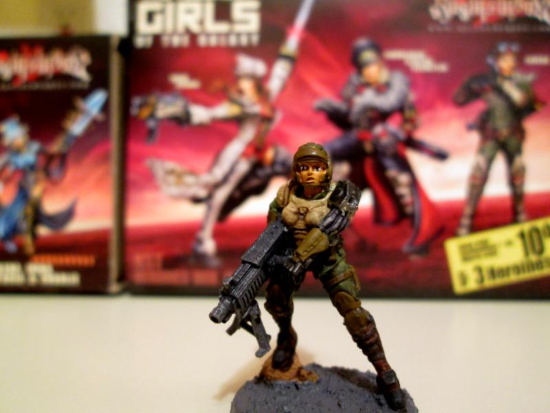 Command Team, Female, Imperial Guard, Infantry, Raging Heroes
