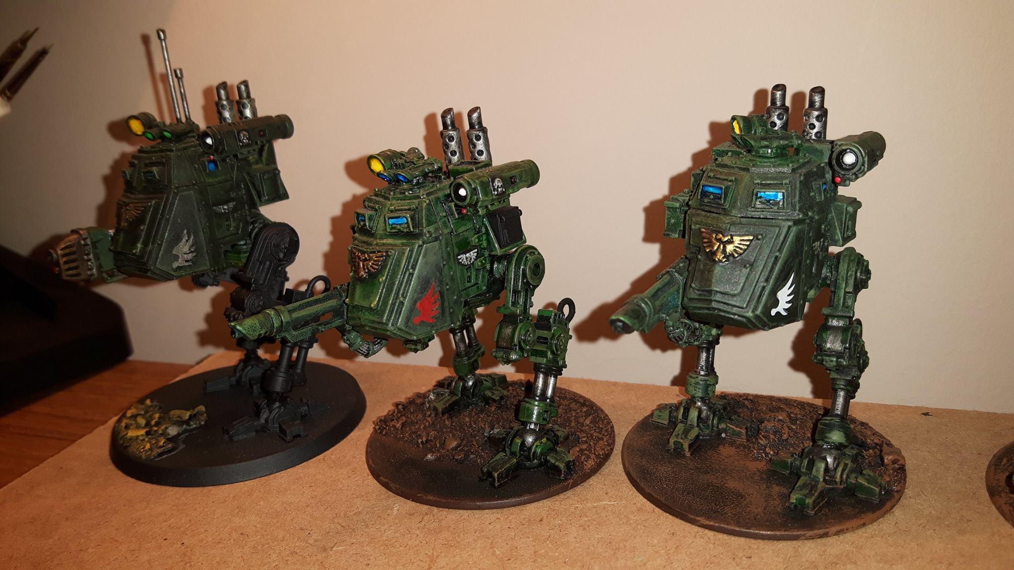Astra Militarum, Imperial Guard, Metal, Plastic, Sentinel