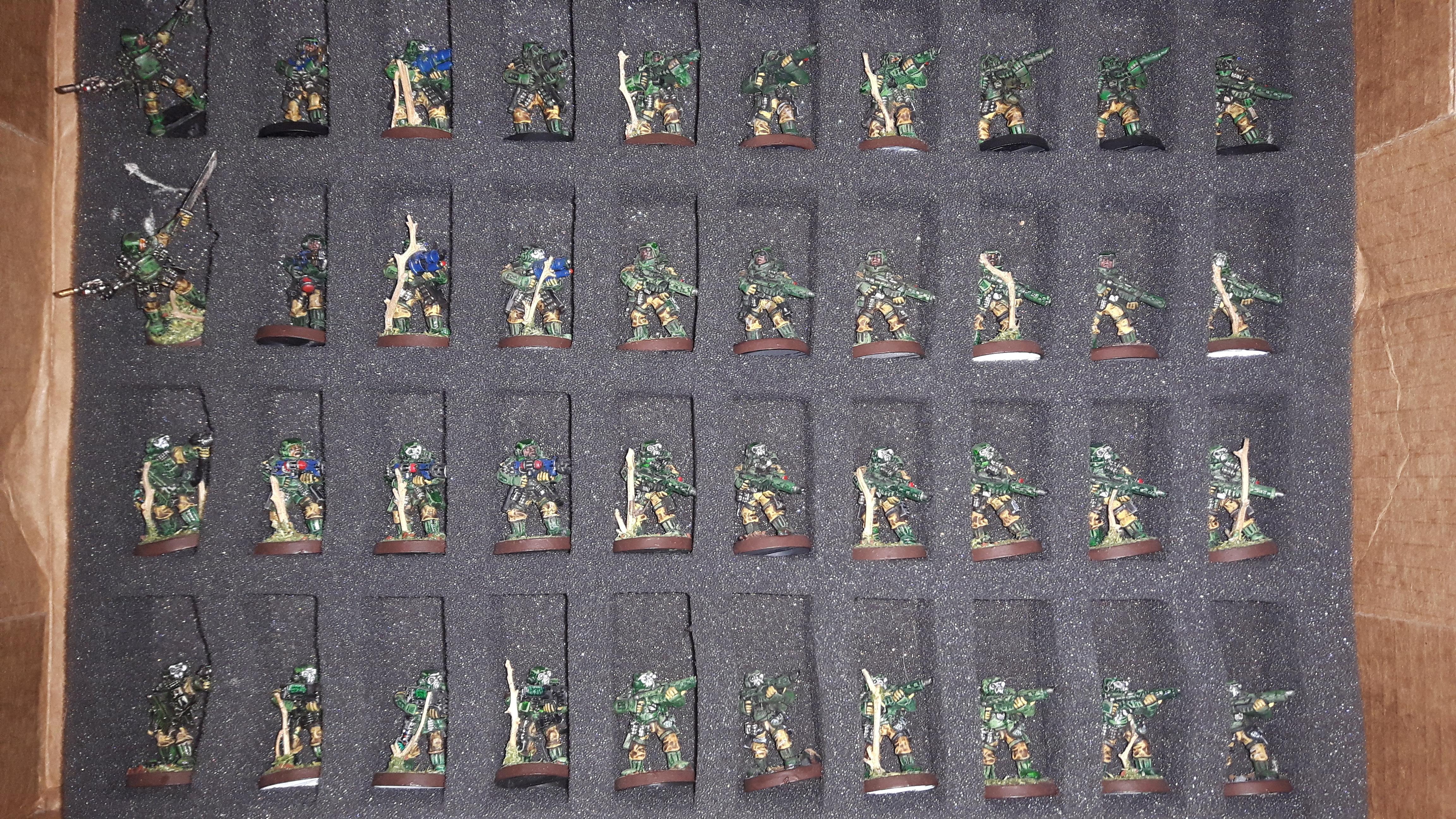 Astra Militarum, Imperial Guard, Metal, Storm Troopers, Stormtrooper, Warhammer 40,000