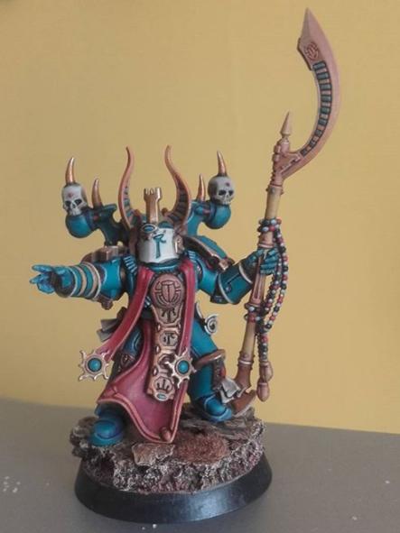 Ahriman, Sorcerer, Thousand Sons, Warhammer Fantasy