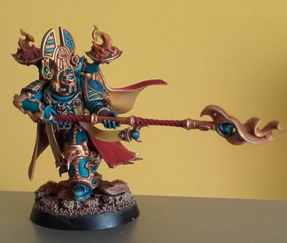 Chaos, Exalted Sorcerer, Thousand Sons, Warhammer Fantasy