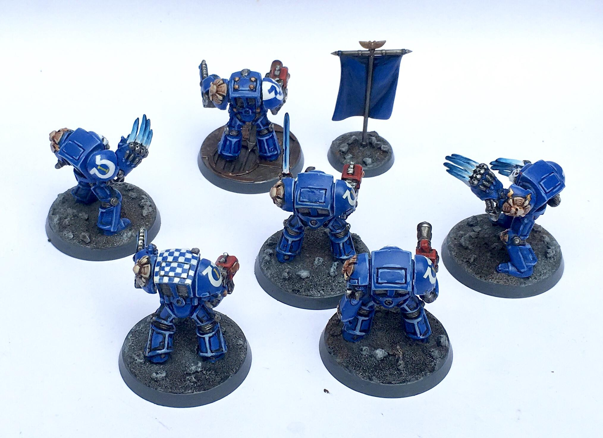 Betrayal At Calth, Terminator Armor, Ultramarines