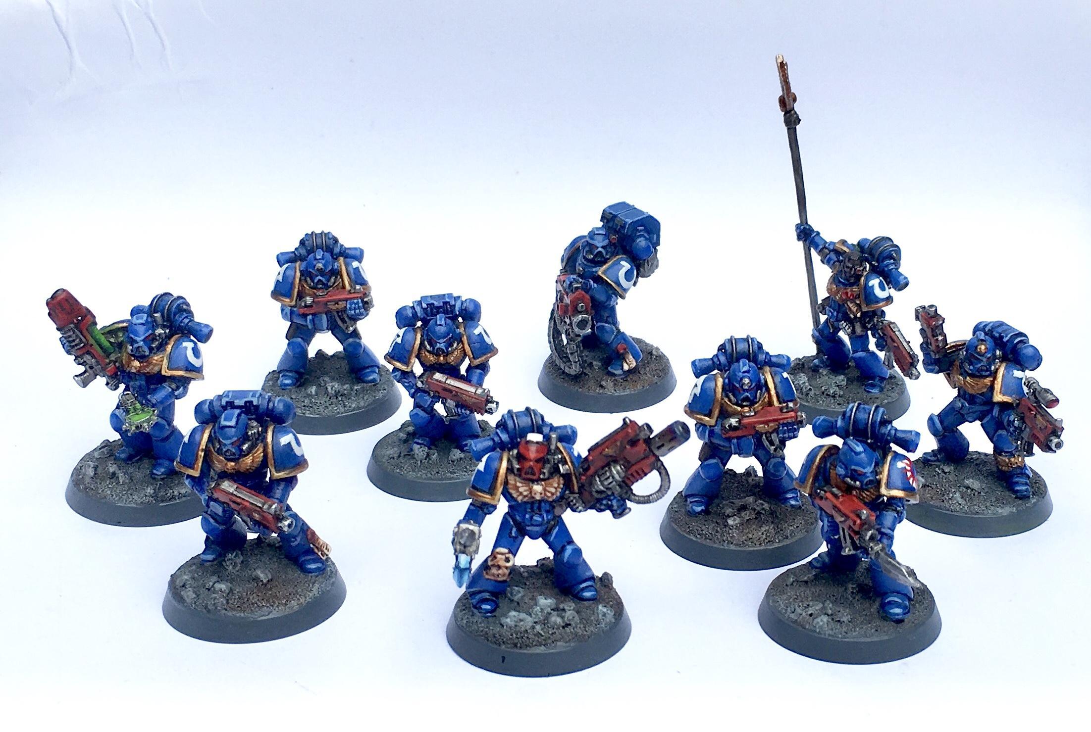 Betrayal At Calth, Tactical Squad, Ultramarines