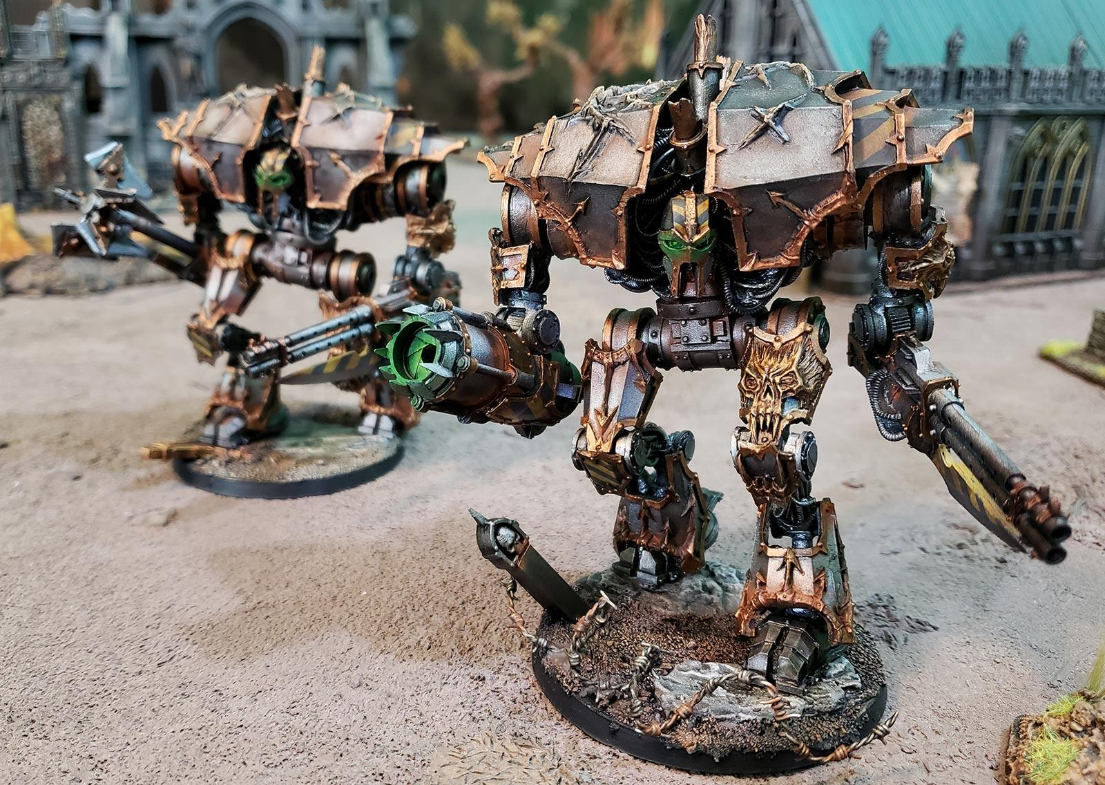 Butcher Cannon, Chaos, Chaos Space Marines, Daemon Engine, Demon Engine, Forge World, Iron Warriors, Siege Claw, Siege Claws, Soul Burner Petard