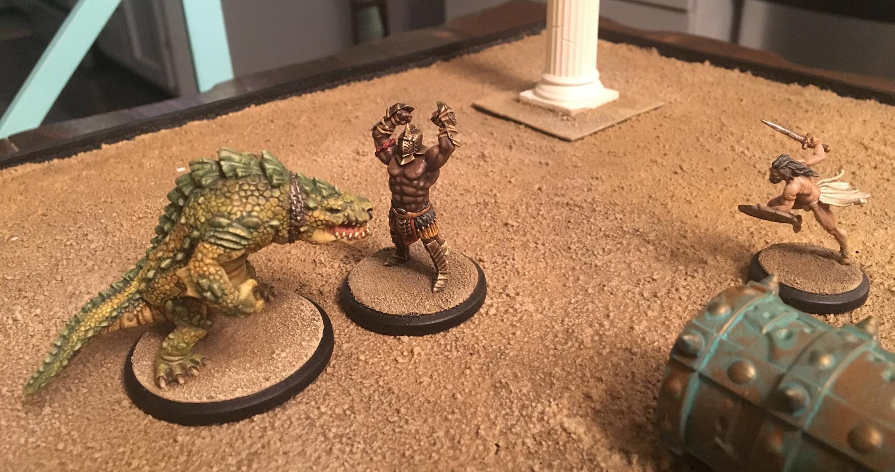 Arena Rex, Atrox, Gladiators, Micon, Noxius, Red Republic Games