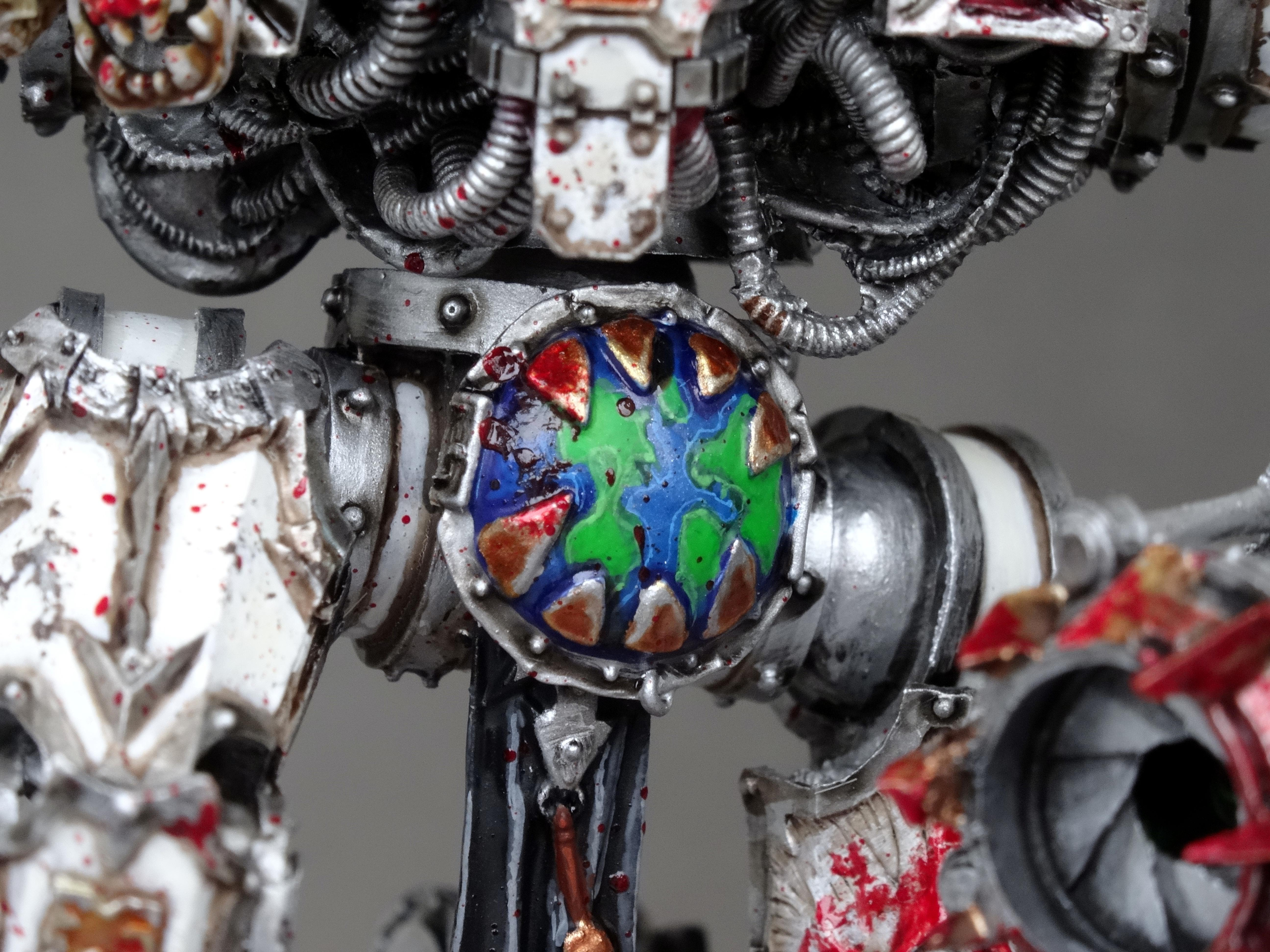 Chaos, Chaos Space Marines, Conversion, Decimator, Forge World, Khorne, World Eaters