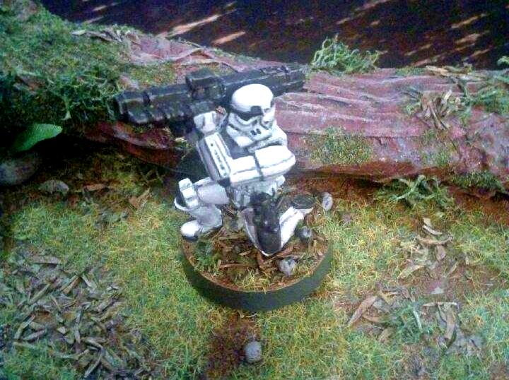 Missile Launcher, Sam, Star Wars, Stormtrooper
