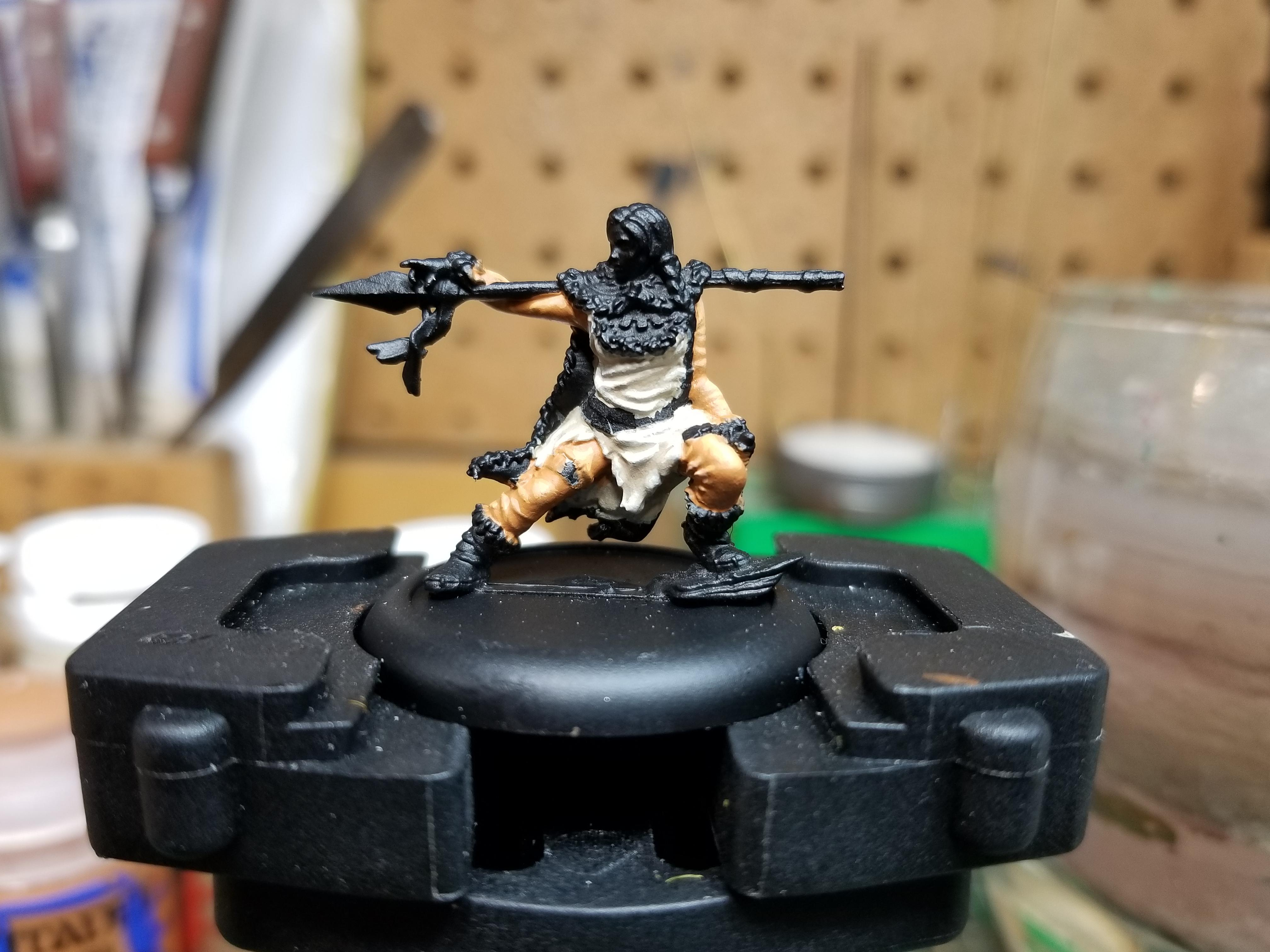 Barbarian, Bushido, Tengu, Work In Progress