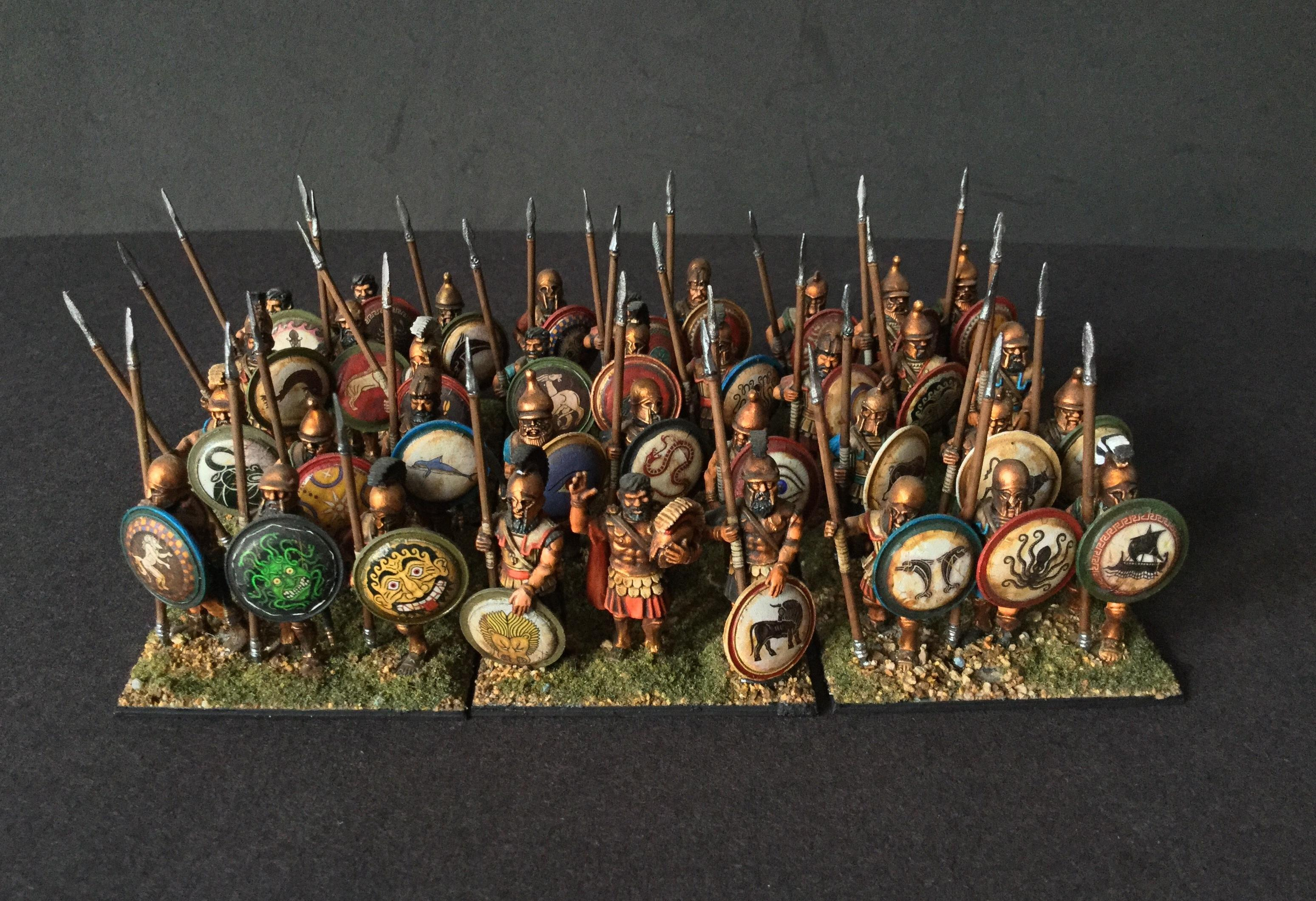 Greeks, Phalanx, Regiment, Spermen