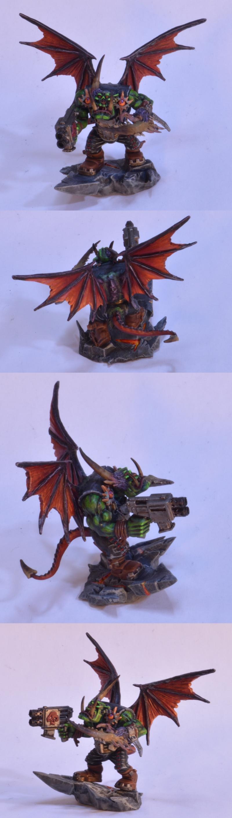 Chaos, Choas Ork, Daemons, Orks, Possessed Ork