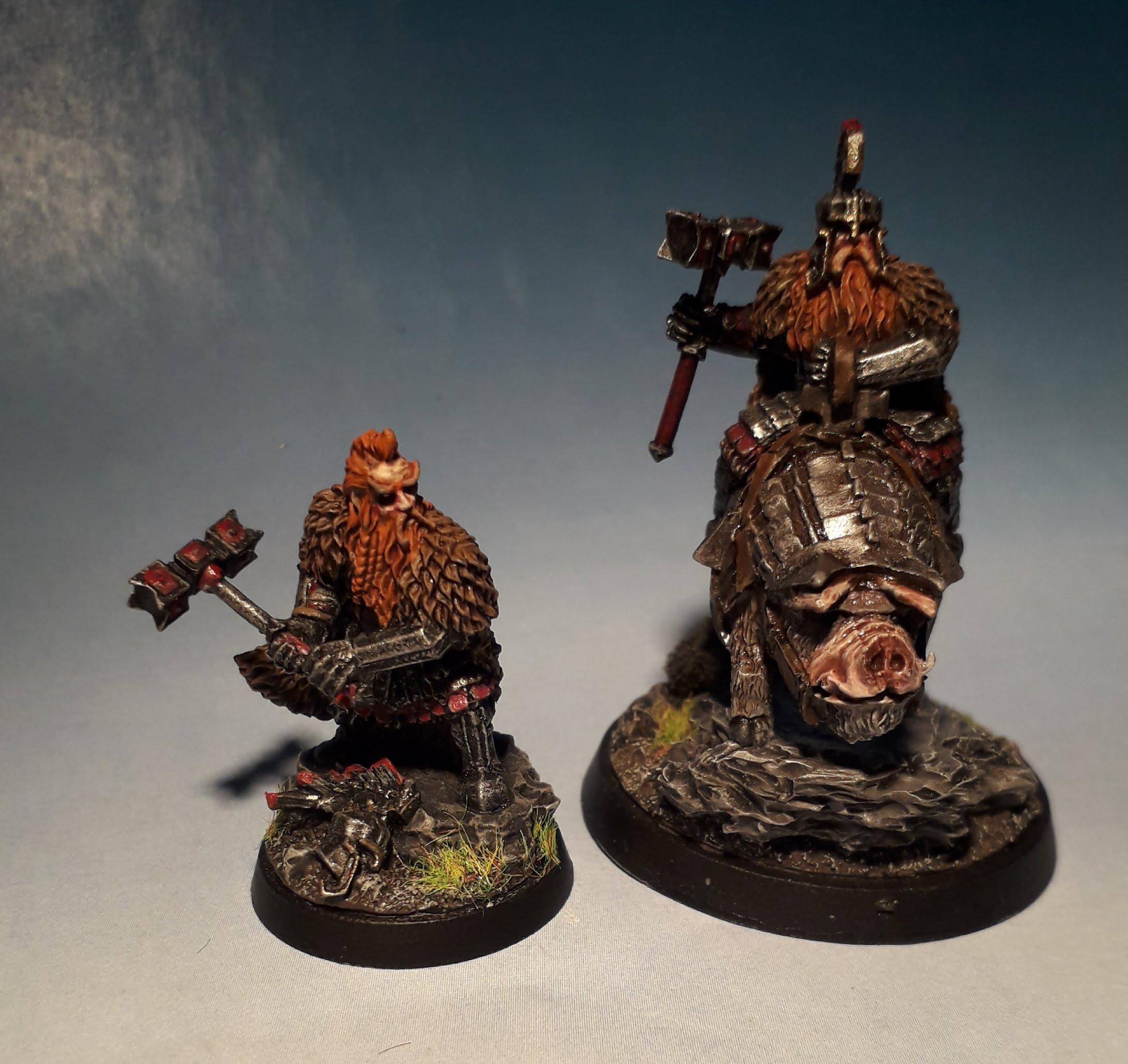 Dain, Dwarves, Hobbit, Iron Hills