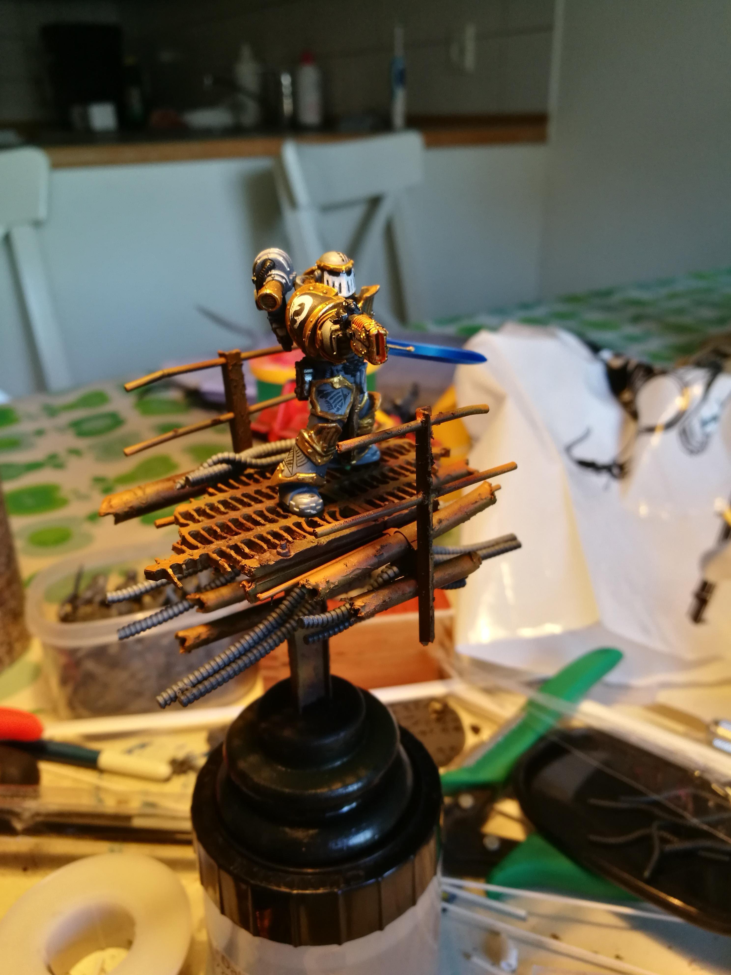 Carcharodons, Display Miniature, Space Marines, Warhammer 40,000, Work In Progress