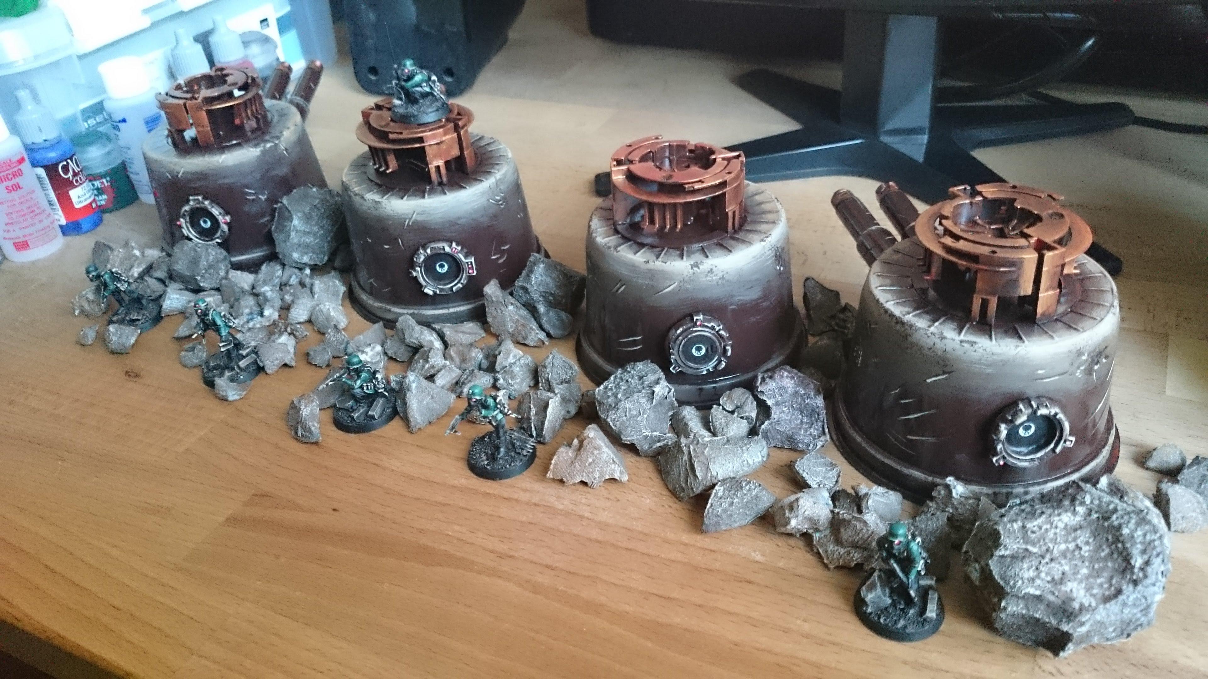 Terrain, Turrets