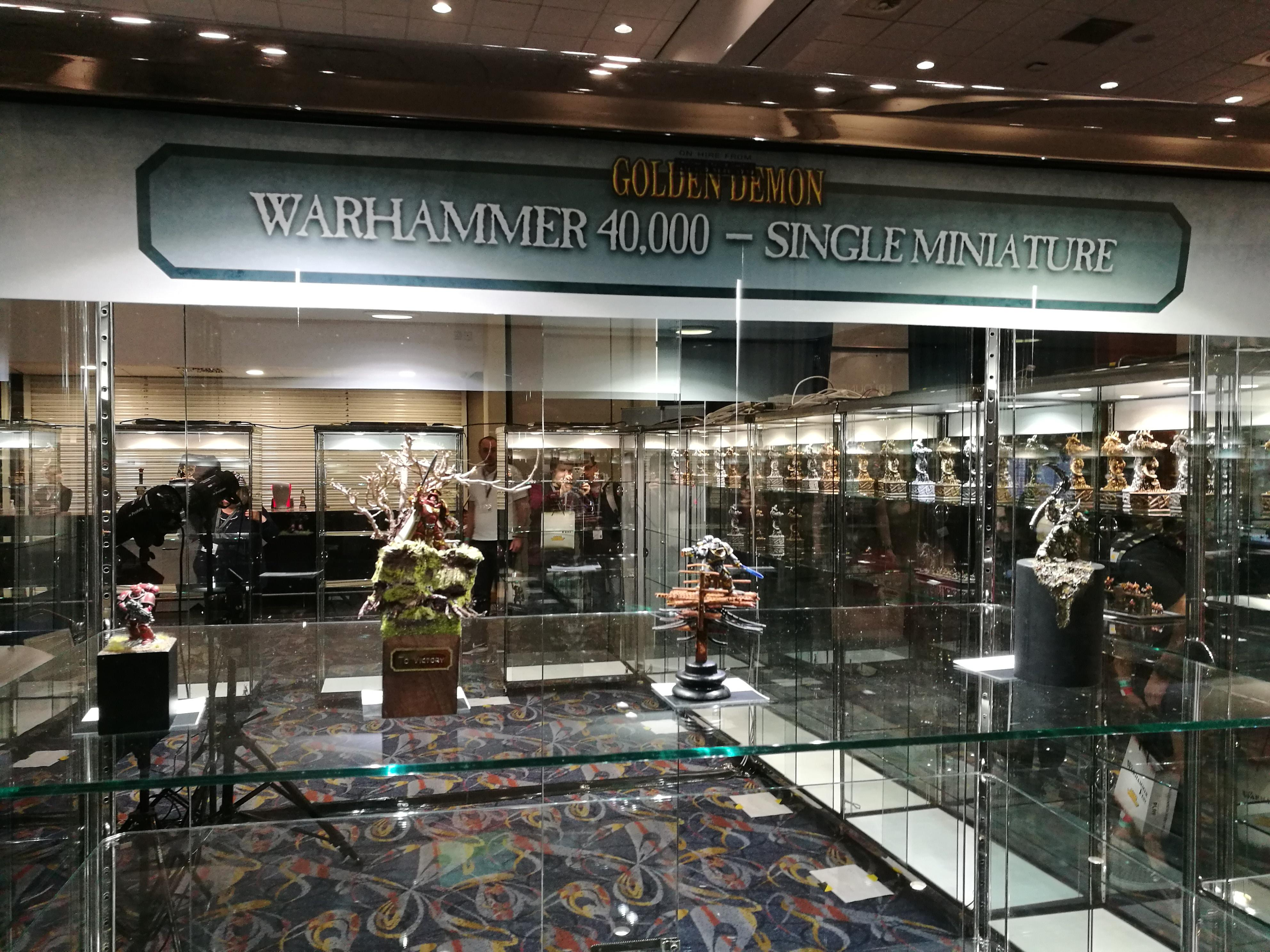 Carcharodons, Display, Space Marines, Warhammer 40,000