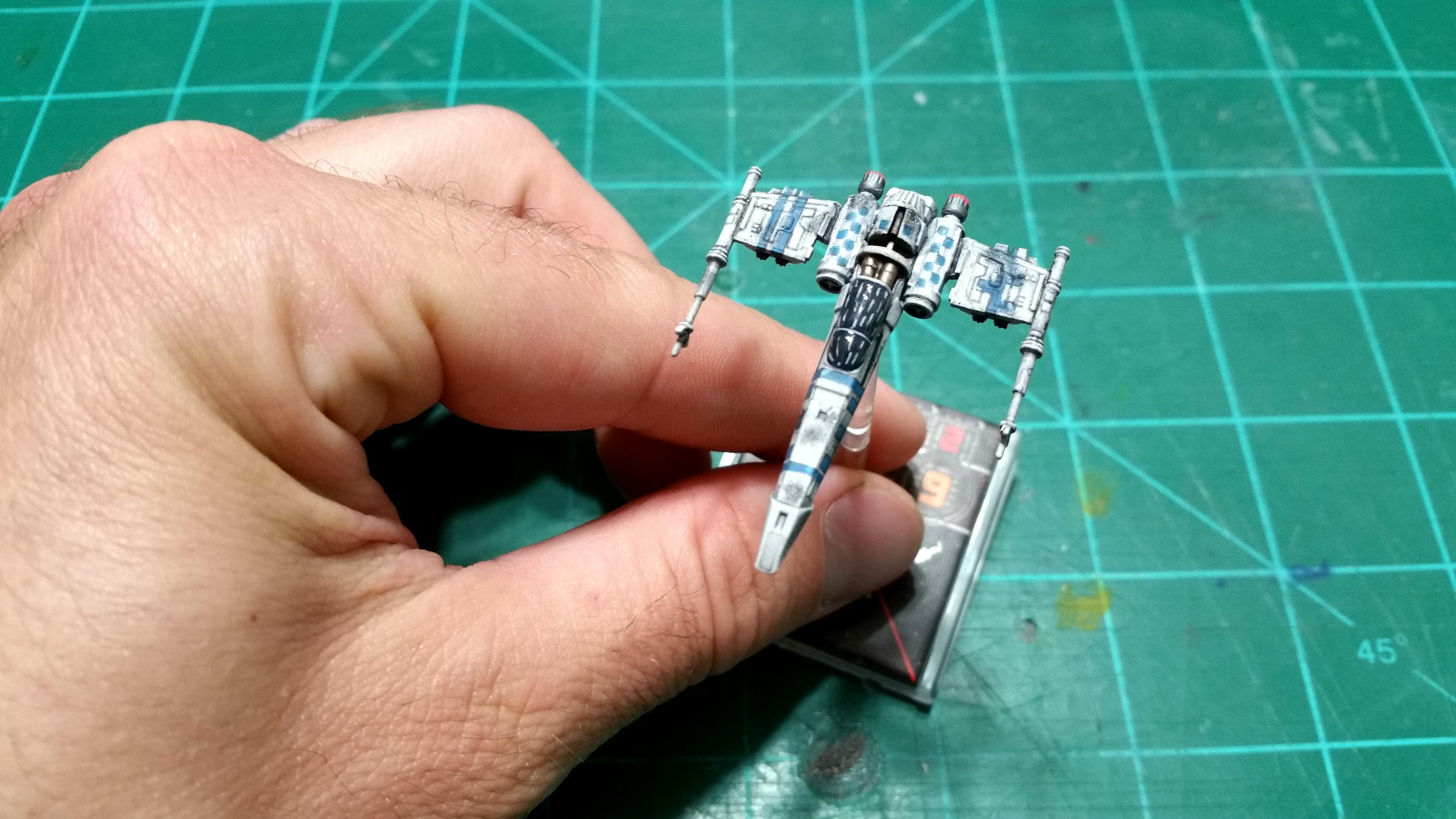 1/270, 1:270, Jaffamaster, Spaceship, Star Wars, X-wing Board Game
