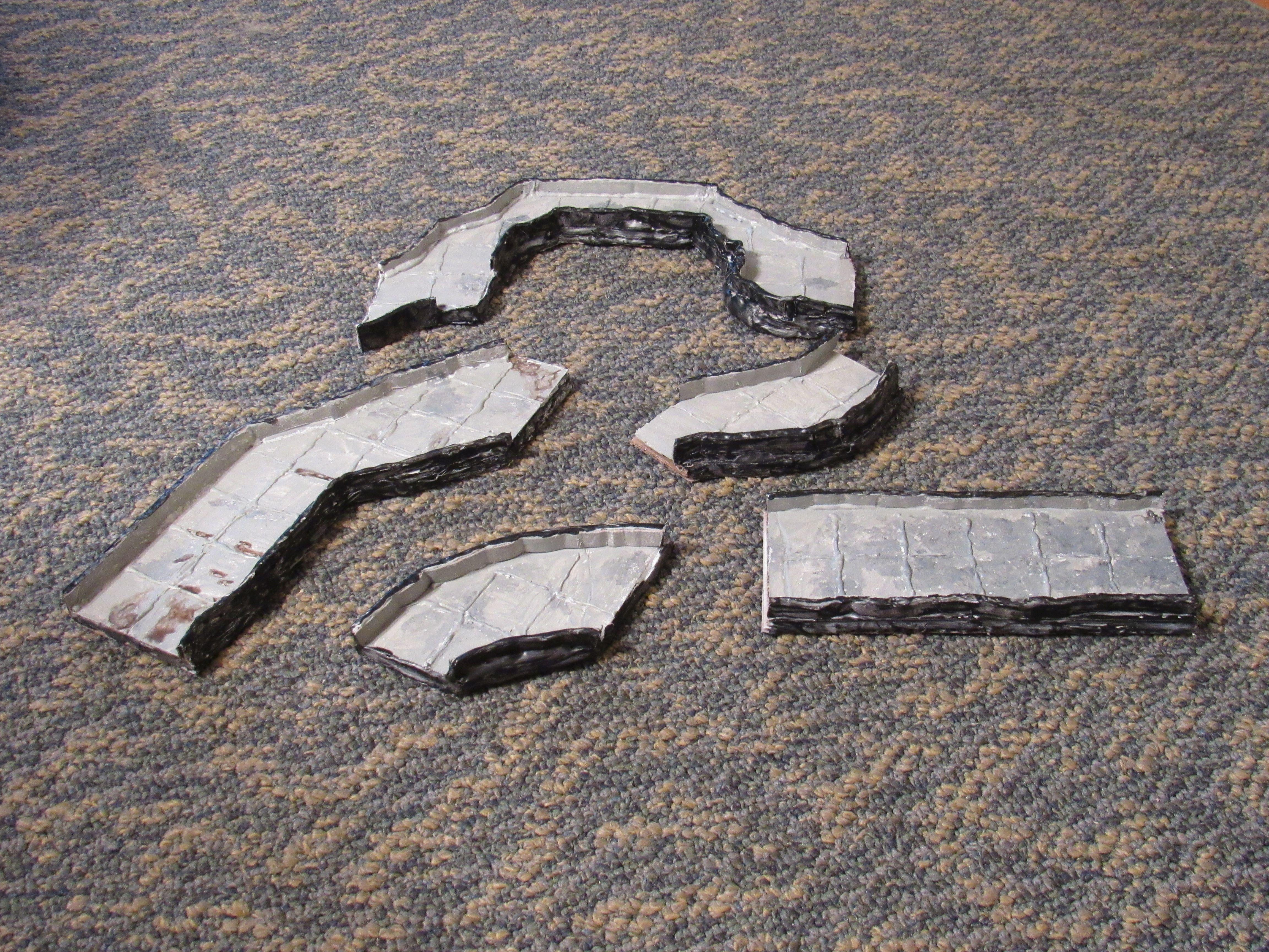 Dungeons And Dragons, Terrain