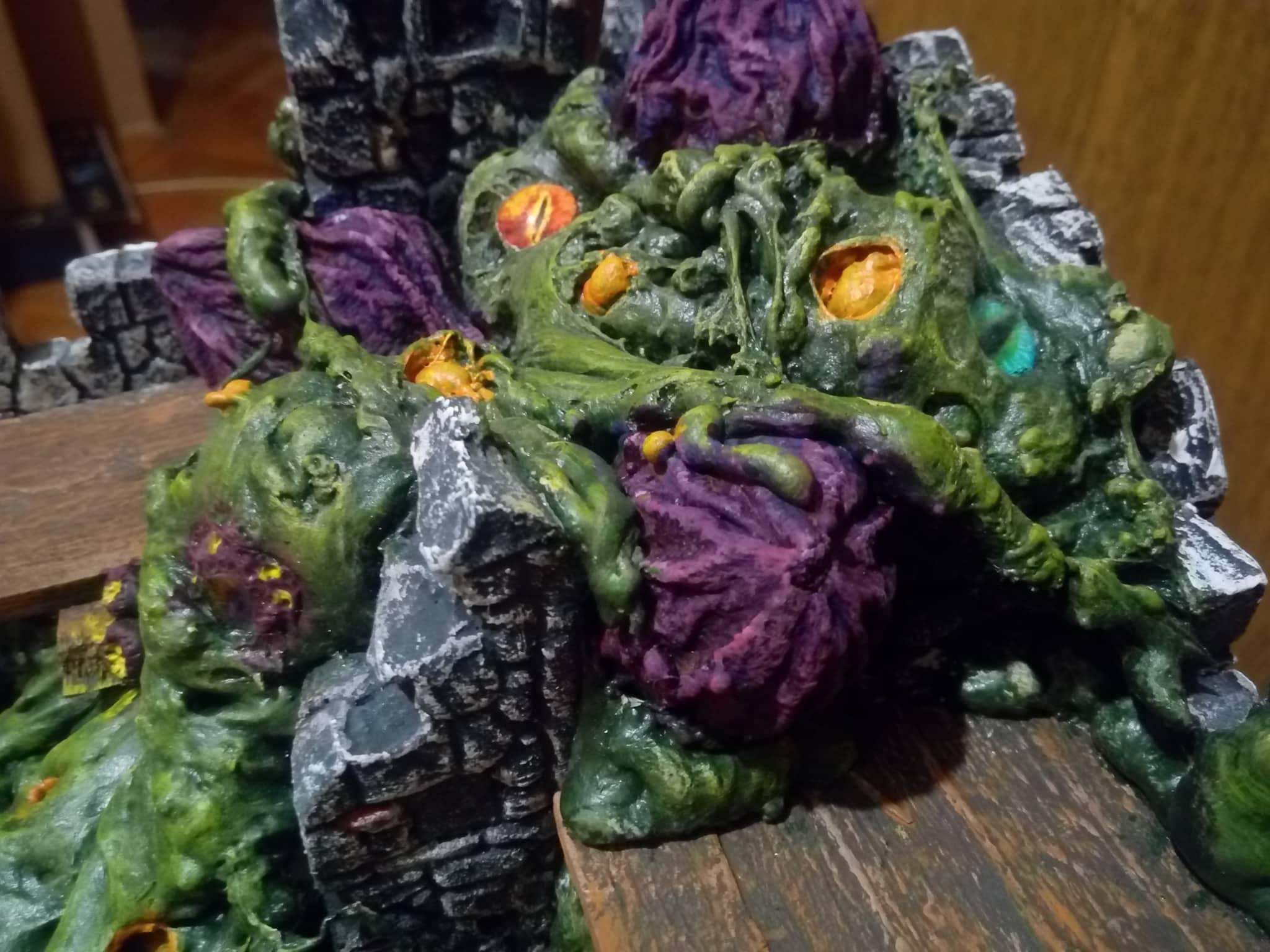 Age, Bretonnians, Eggs, Eyes, Fort, Infested, Mousillon, Nurgle, Sigmar, Stone, Tentacles, Terrain, Ulcers, Walls, Warhammer Fantasy, Worms