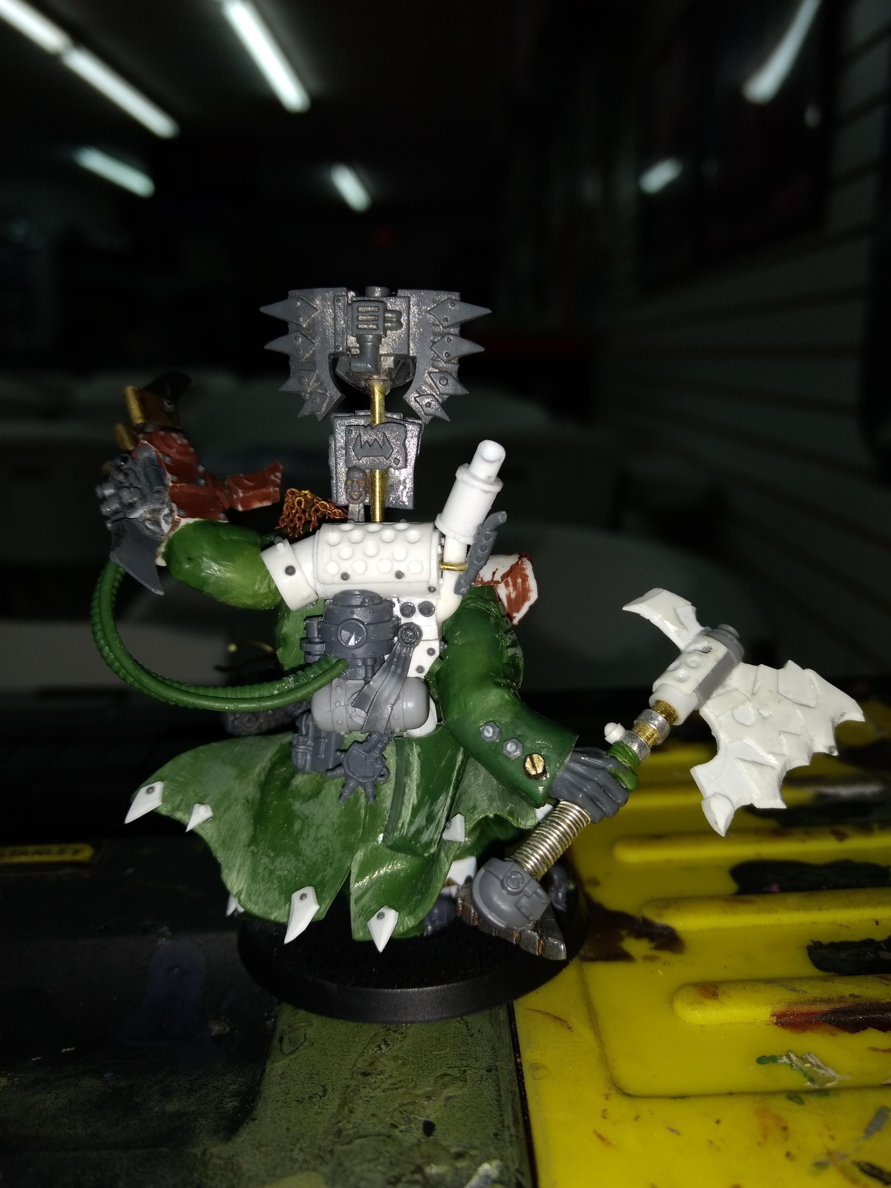 Blood Axe, Conversion, Orks, Warboss