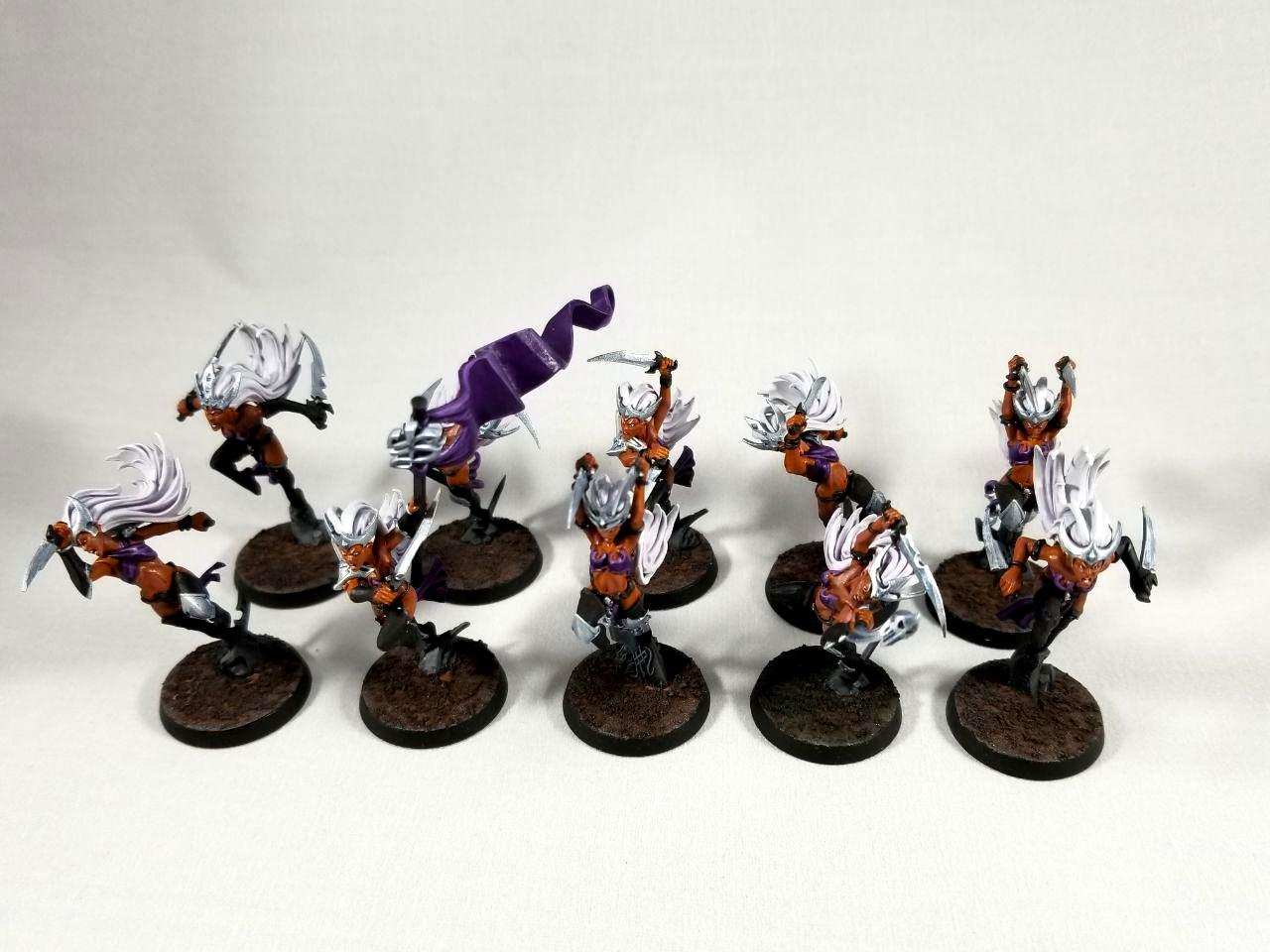 Aelves, Age Of Sigmar, Daughters Of Khaine, Dok, Khaine, Warhammer Fantasy, Witch Aelves