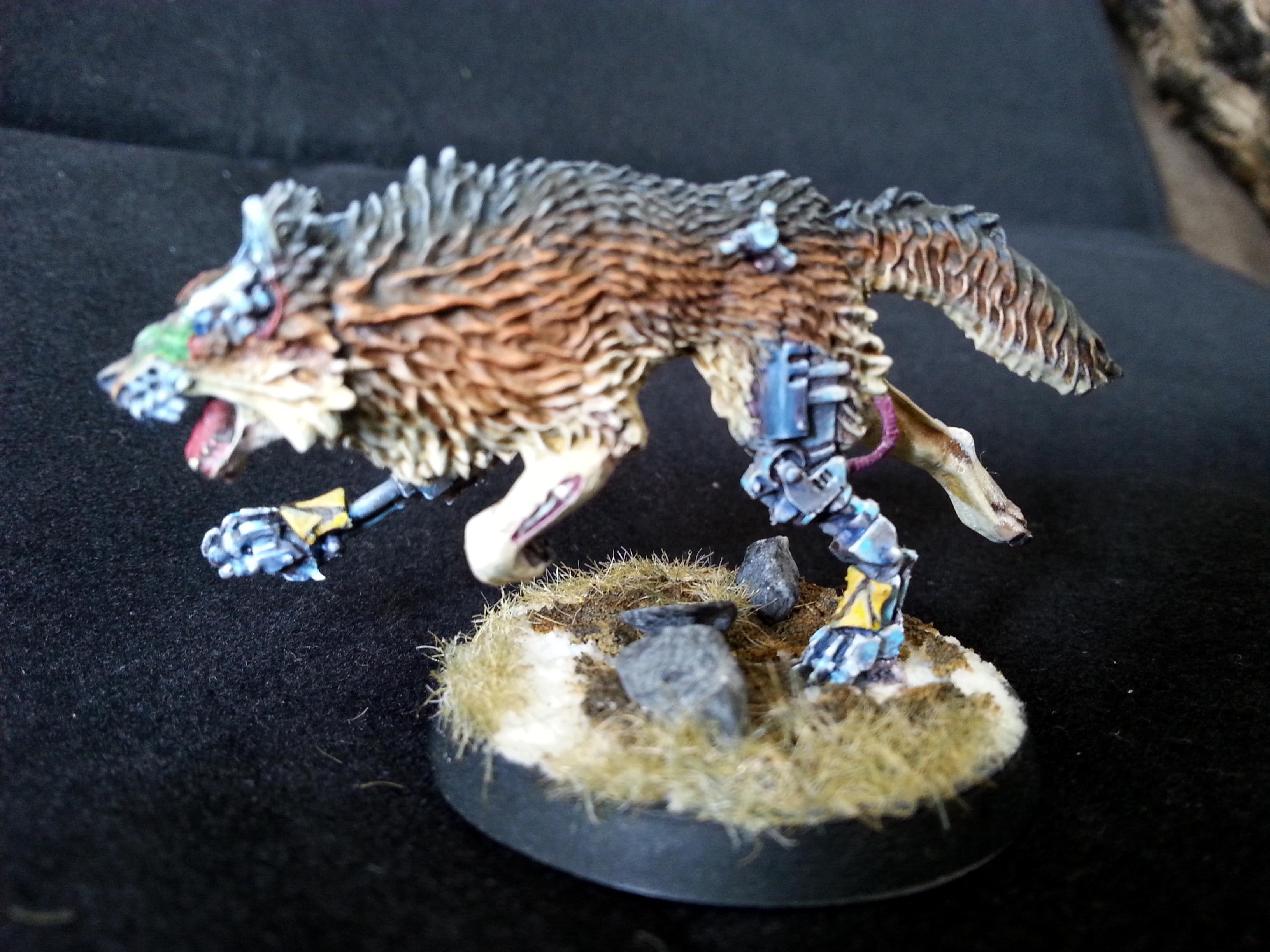 Cyber, Cyberwolf, Fenrisian, Space Wolfes, Wolf