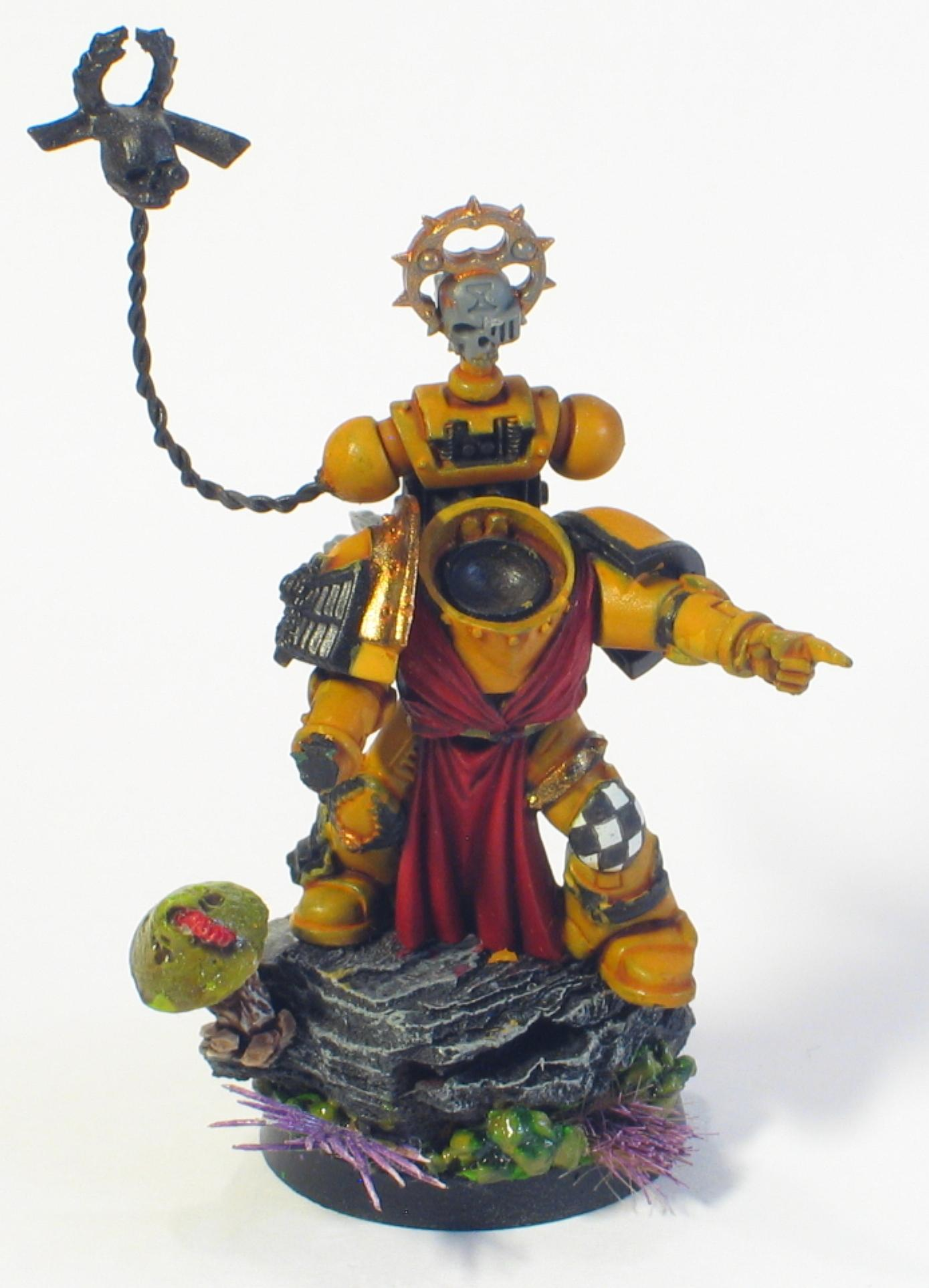 Character, Imperial Fists, Space Marines