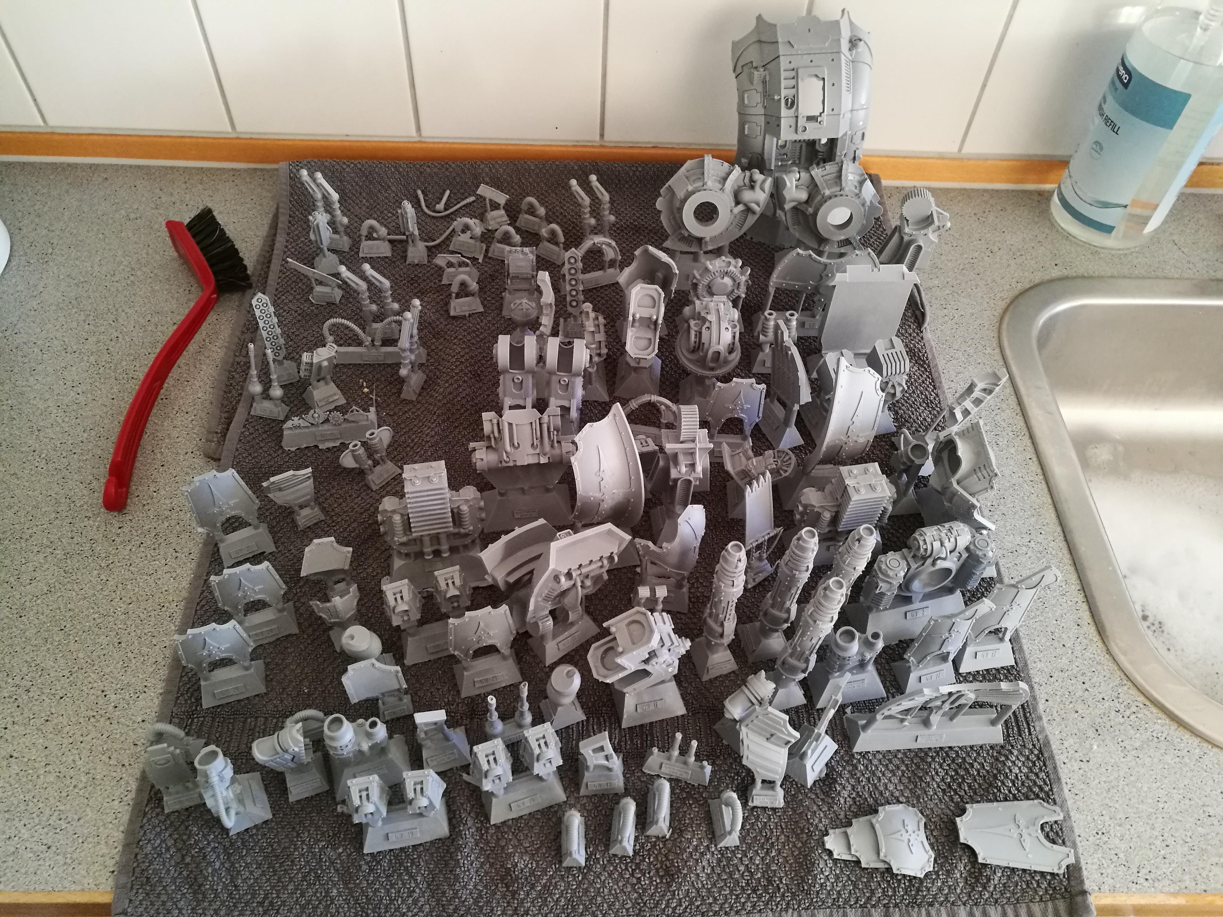 Forge World, Imperial Knights, Porphyrion, Resin, Warhammer 40,000