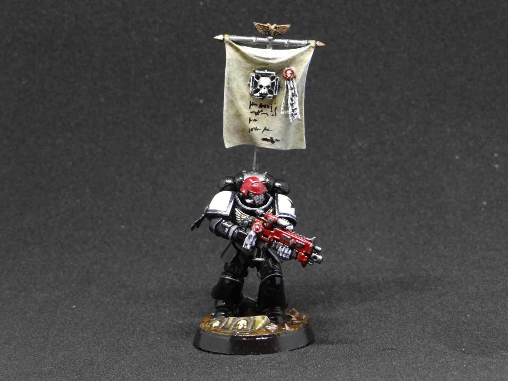 Black, Black Templars, Conversion, Dreadnough, Imperium, Proxy, Space Marines