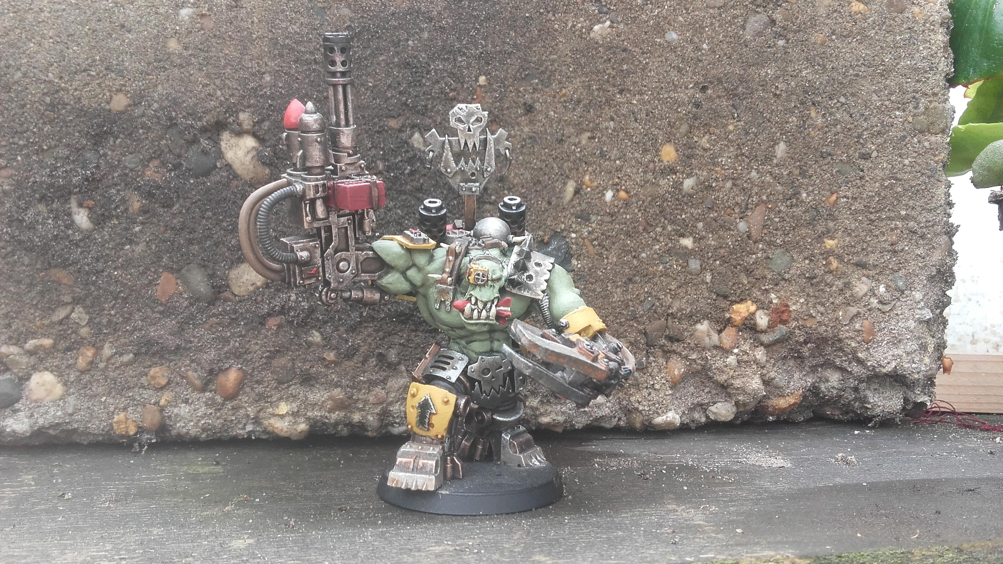 Orks, Warboss, Warhammer 40,000, Warlord