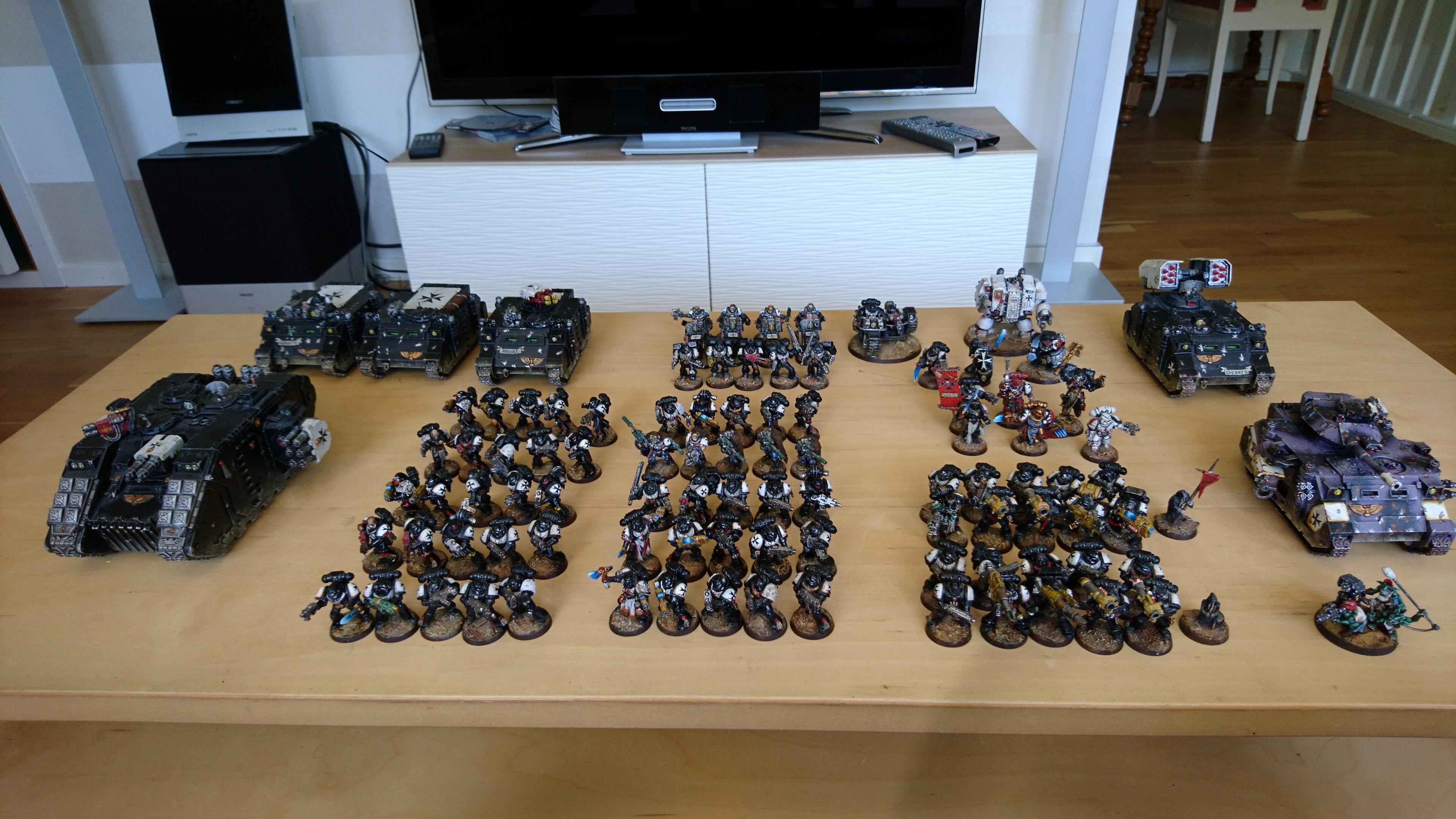 Black Templars, Collection, Space Marines