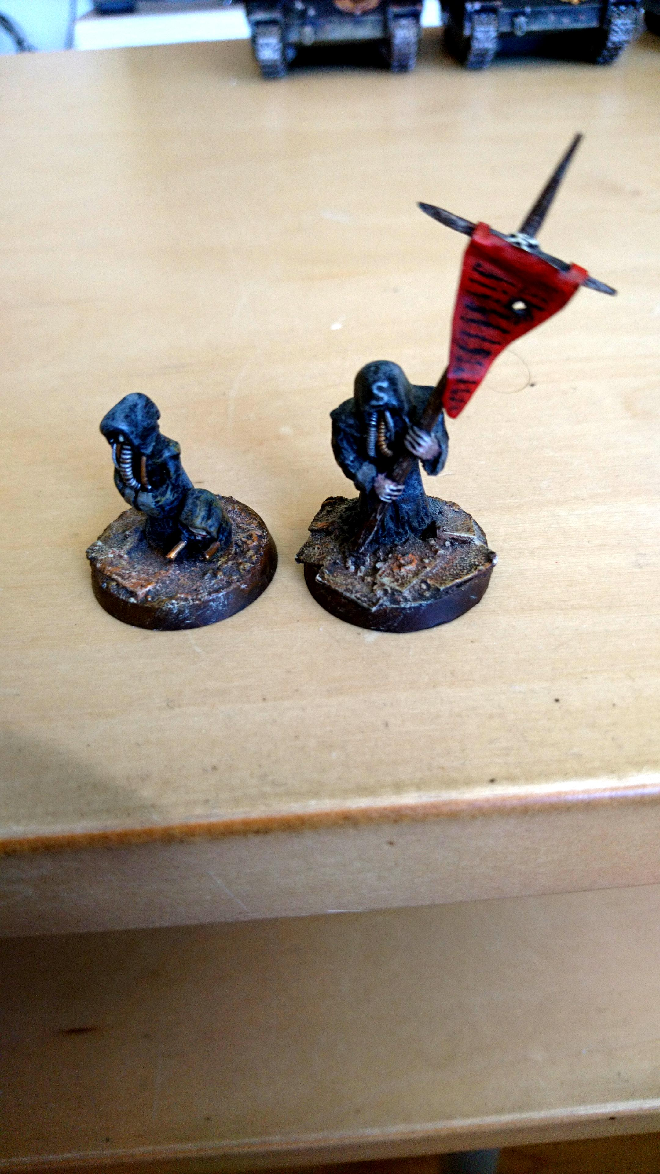 Black Templars, Conversion, Greenstuff, Sculpted