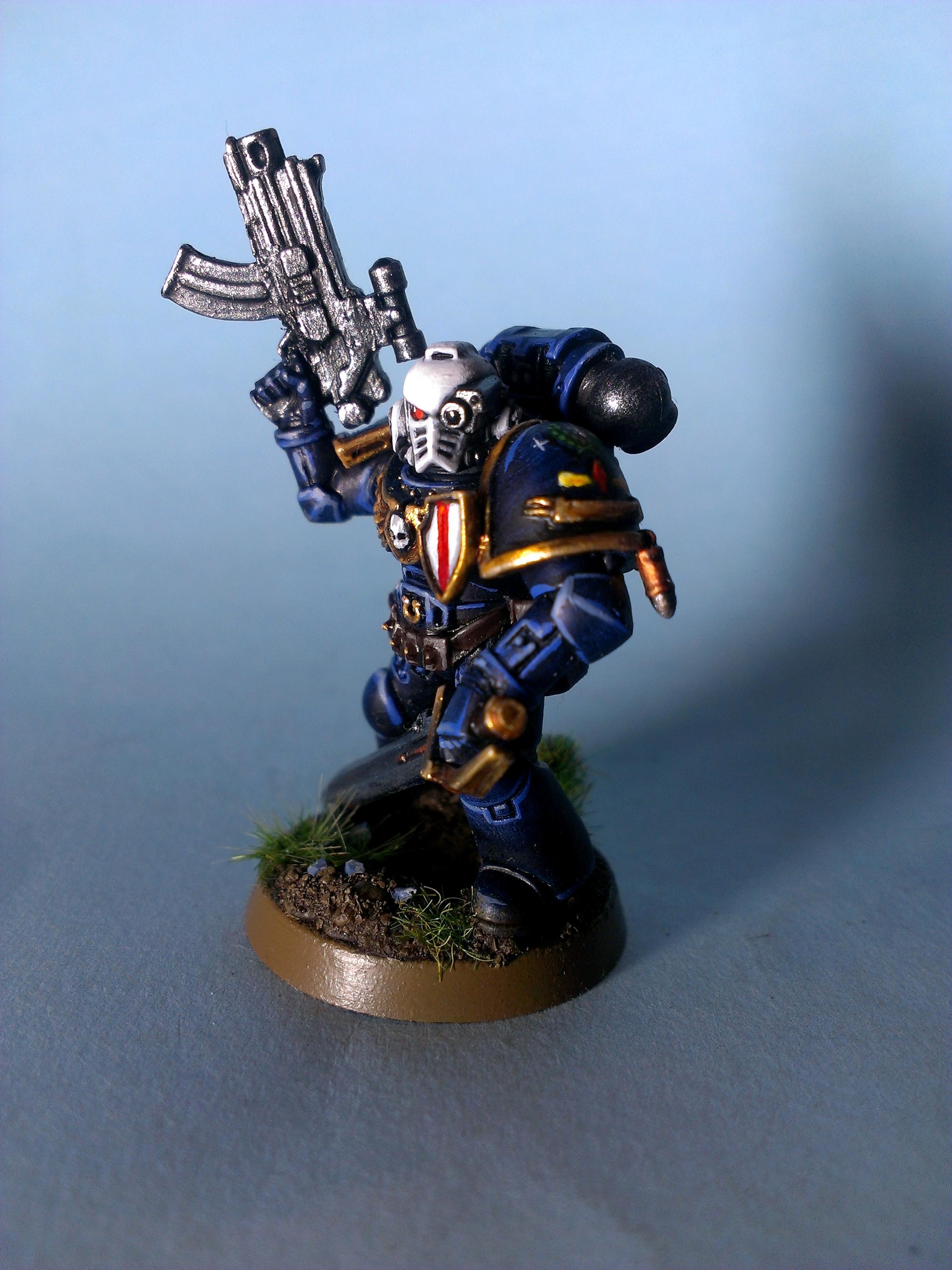 Lieutenant, Space Marines, Ultramarines